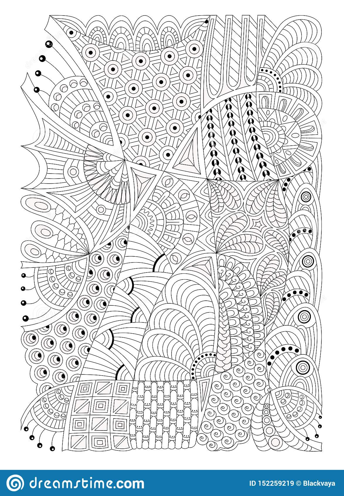 6 Best Images of Printable Zentangle Patterns Coloring Pages ... | 1689x1173