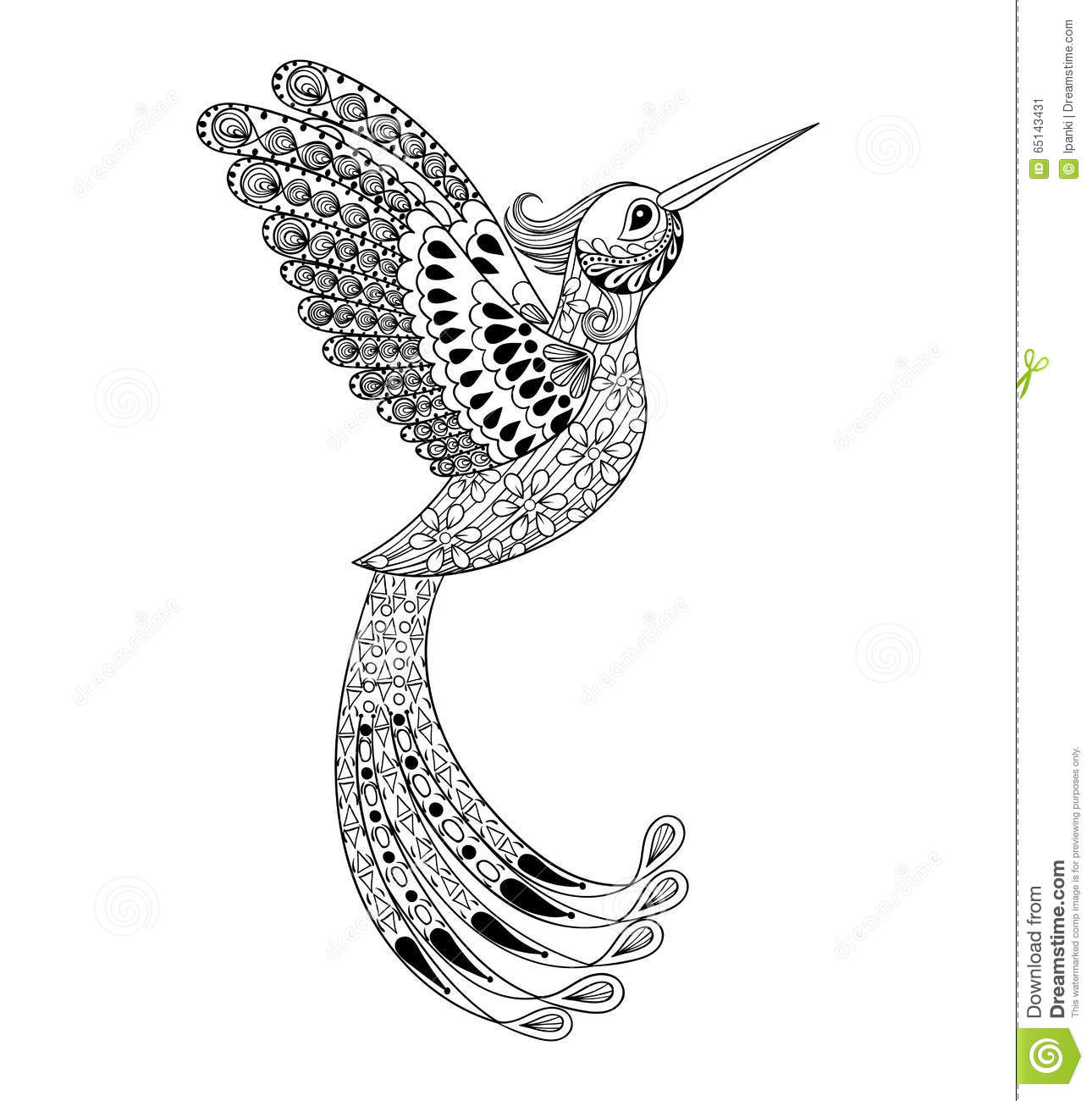 ... Zentangle Penguin Coloring Page Adult. on zentangle animals coloring