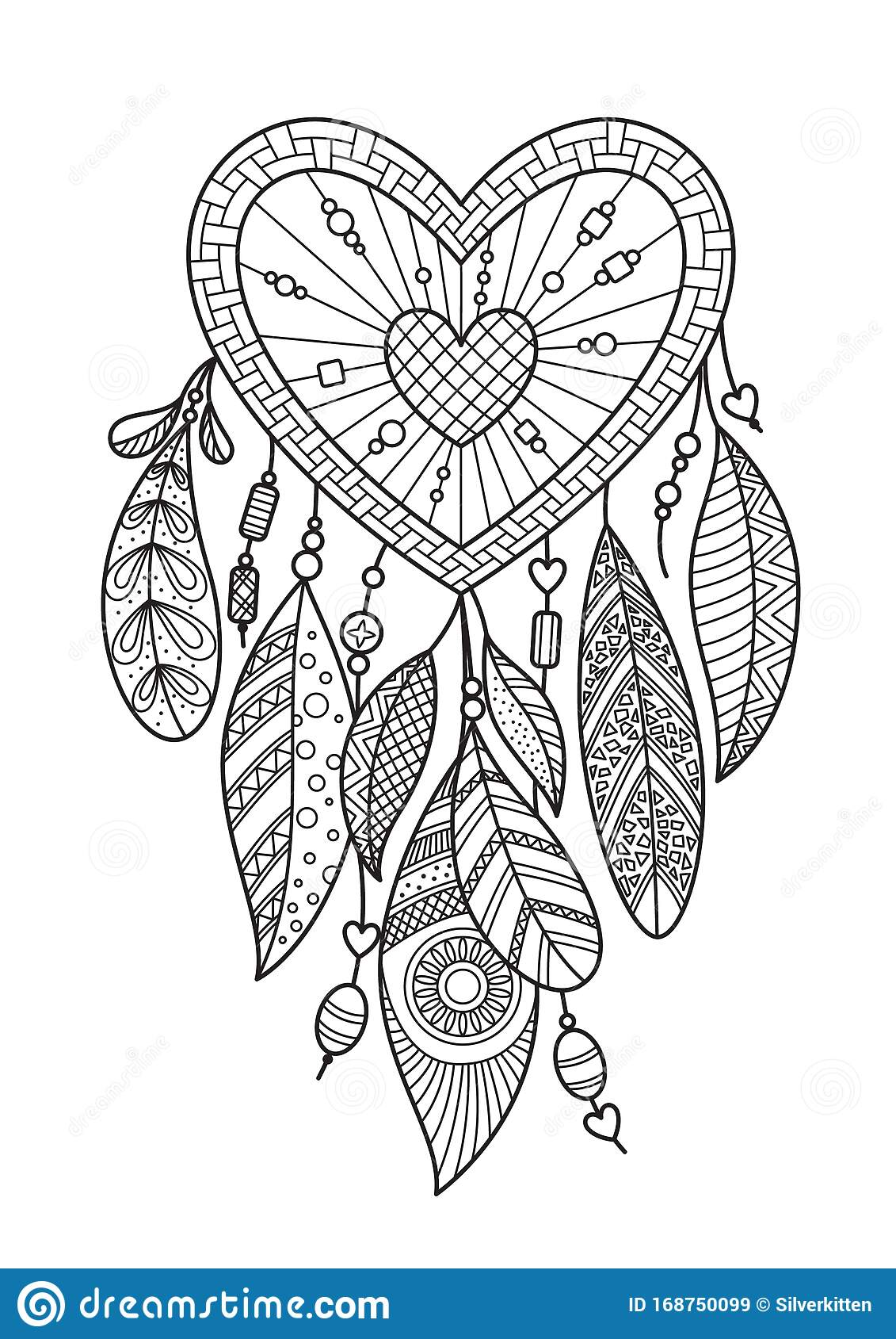 Dream Catcher Coloring Pages - Best Coloring Pages For Kids | 1689x1131