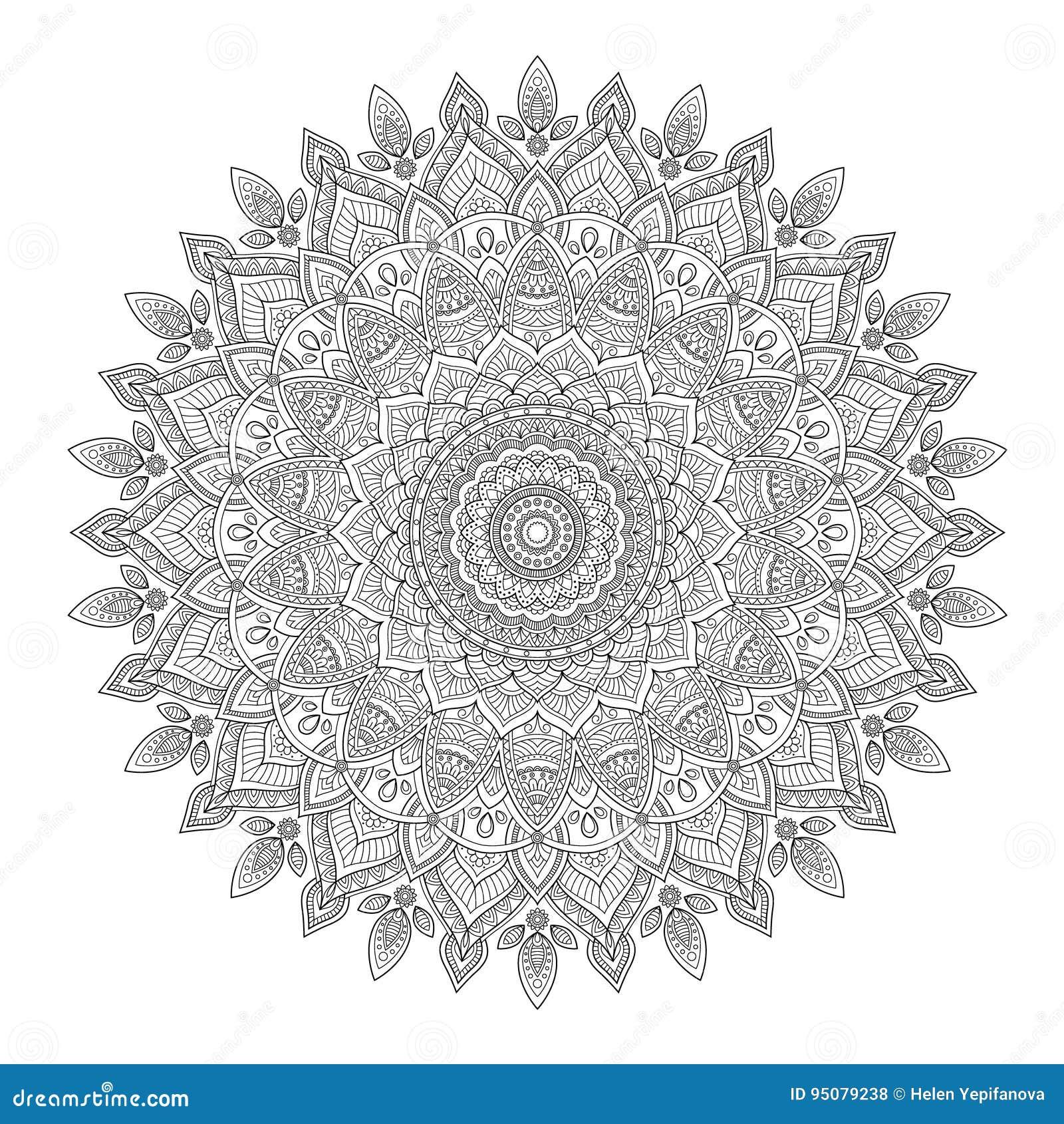 Zentangle-Hintergrund, Tapete, Beschaffenheit, Muster Runde Mandala ...