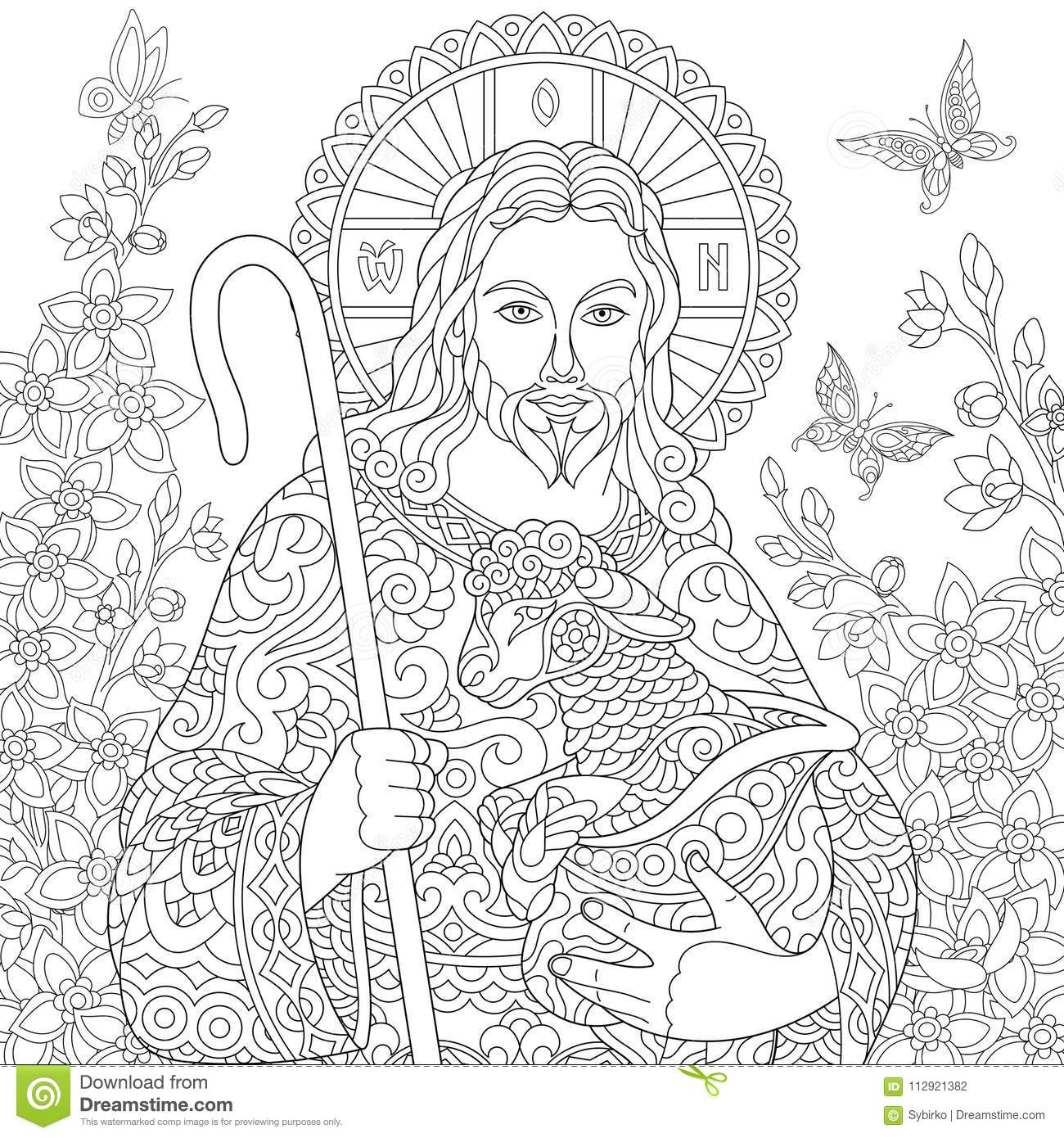 Free Free Religious Easter Coloring Pages, Download Free Clip Art ... | 1390x1300