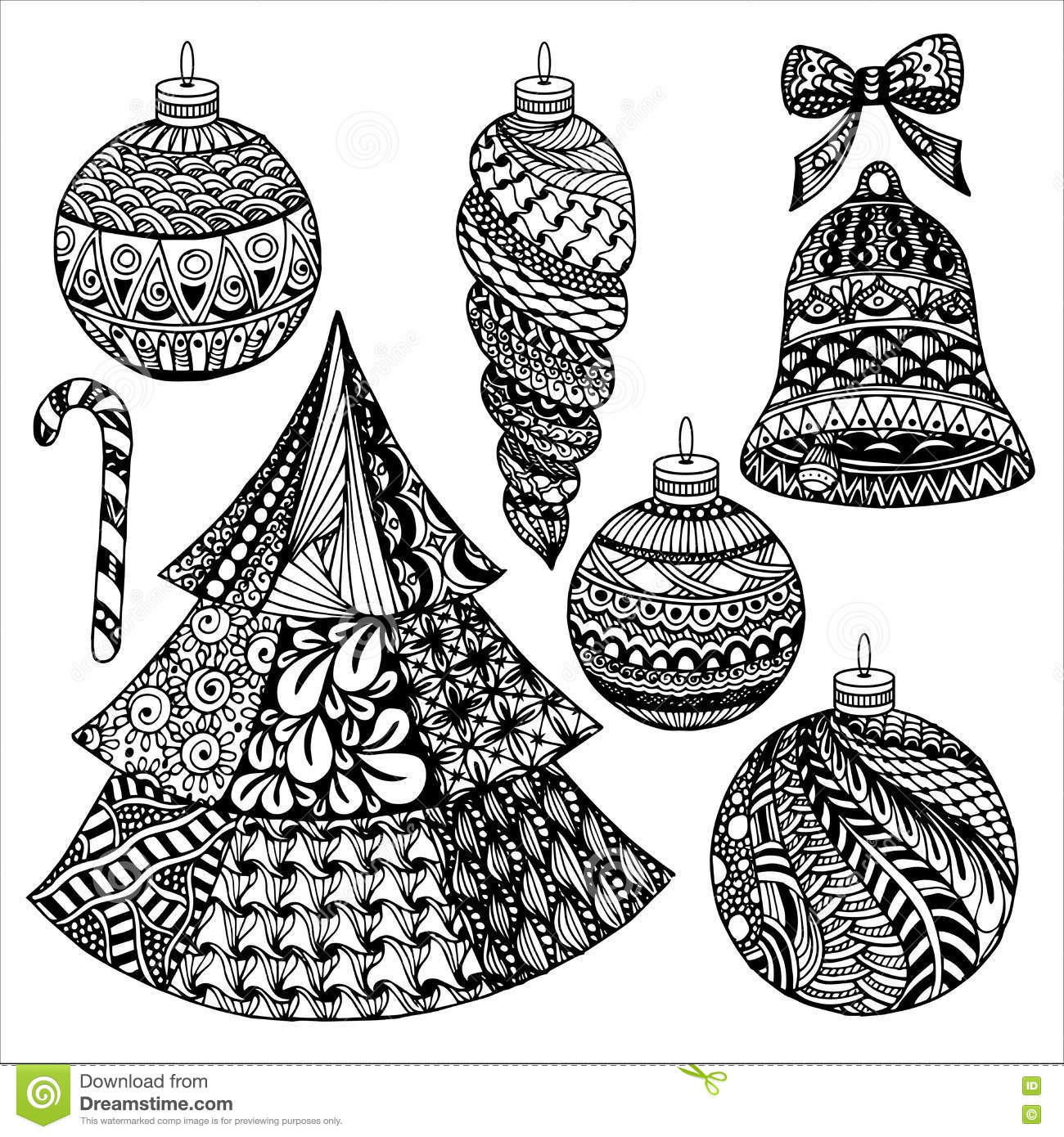 Zentangle julsamling