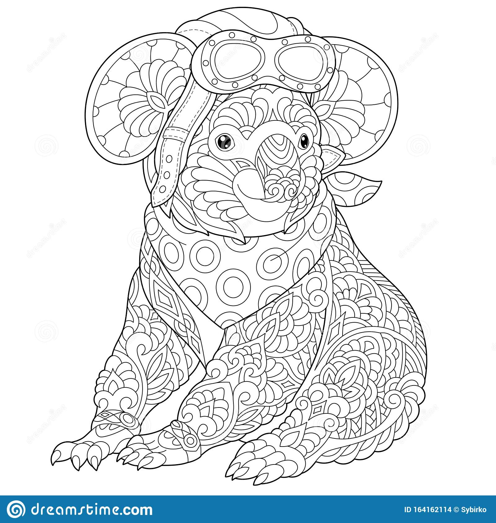 Free Printable Koala Coloring Pages For Kids | 1689x1600