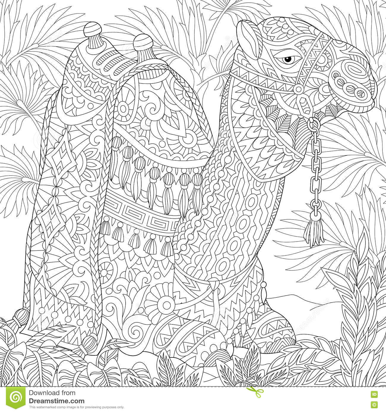 desert oasis coloring pages - photo#30