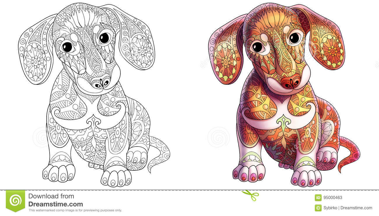 Dachshund Cartoons Illustrations Amp Vector Stock Images