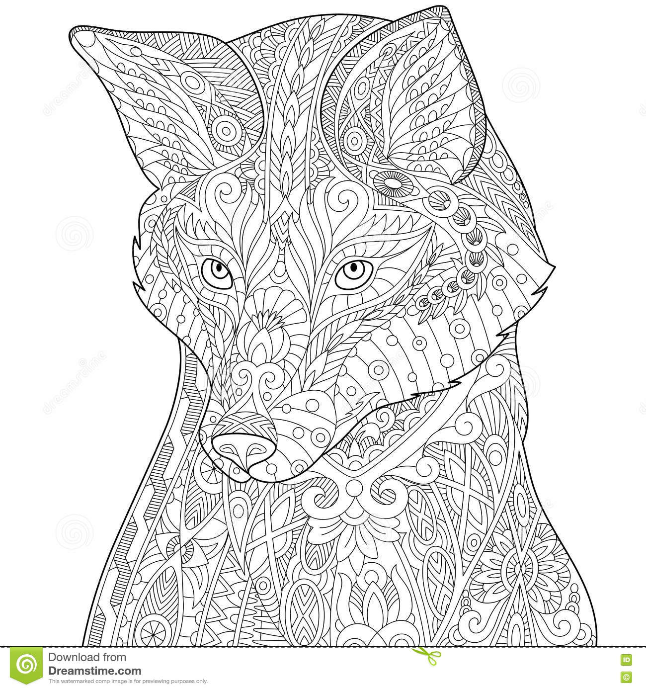 Husky Cartoons Illustrations Amp Vector Stock Images