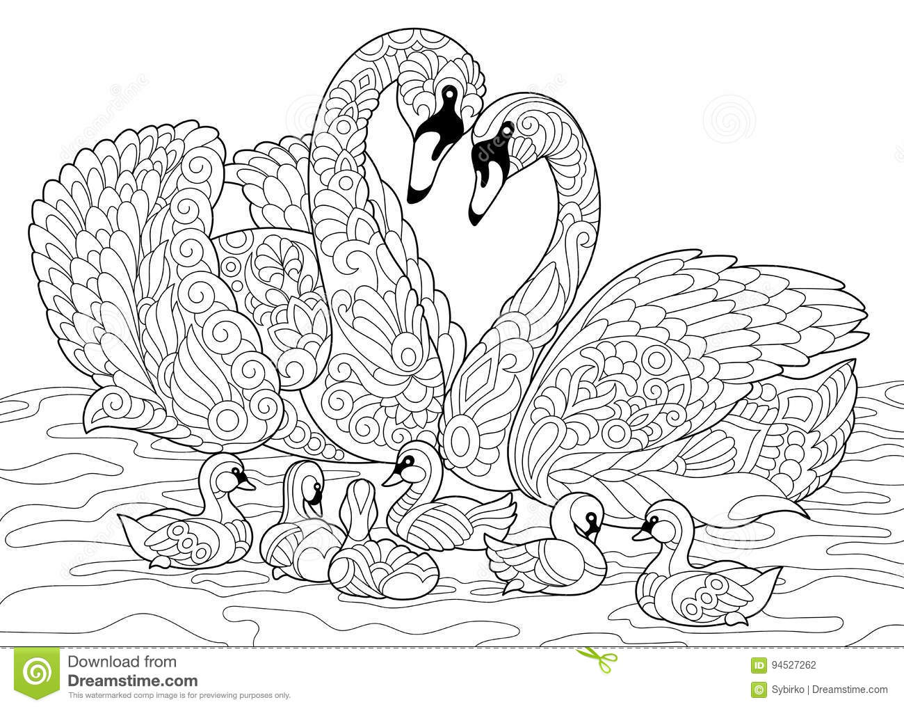 Free Hand Coloring Page