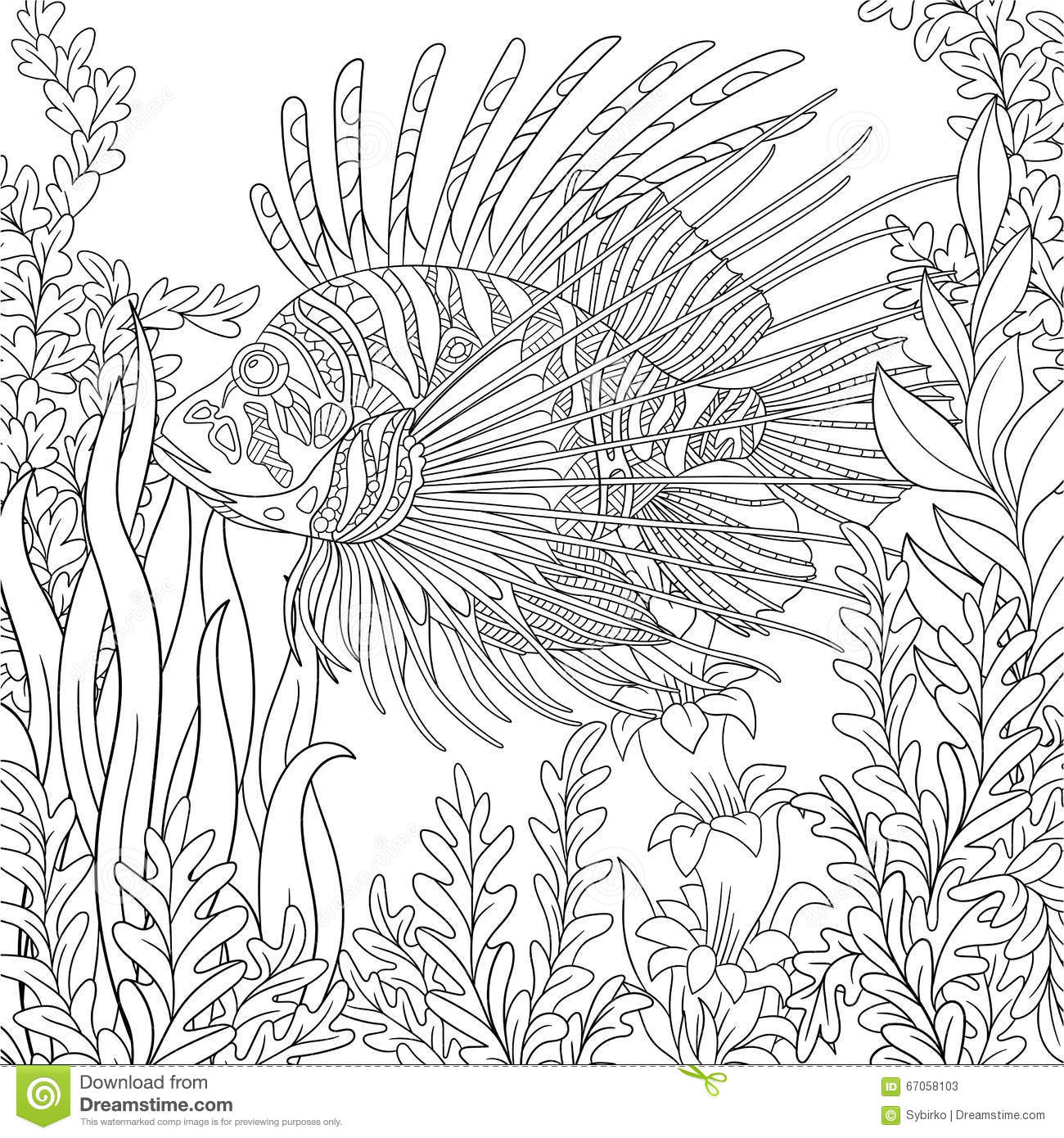 Dangerous Animal Coloring Pages