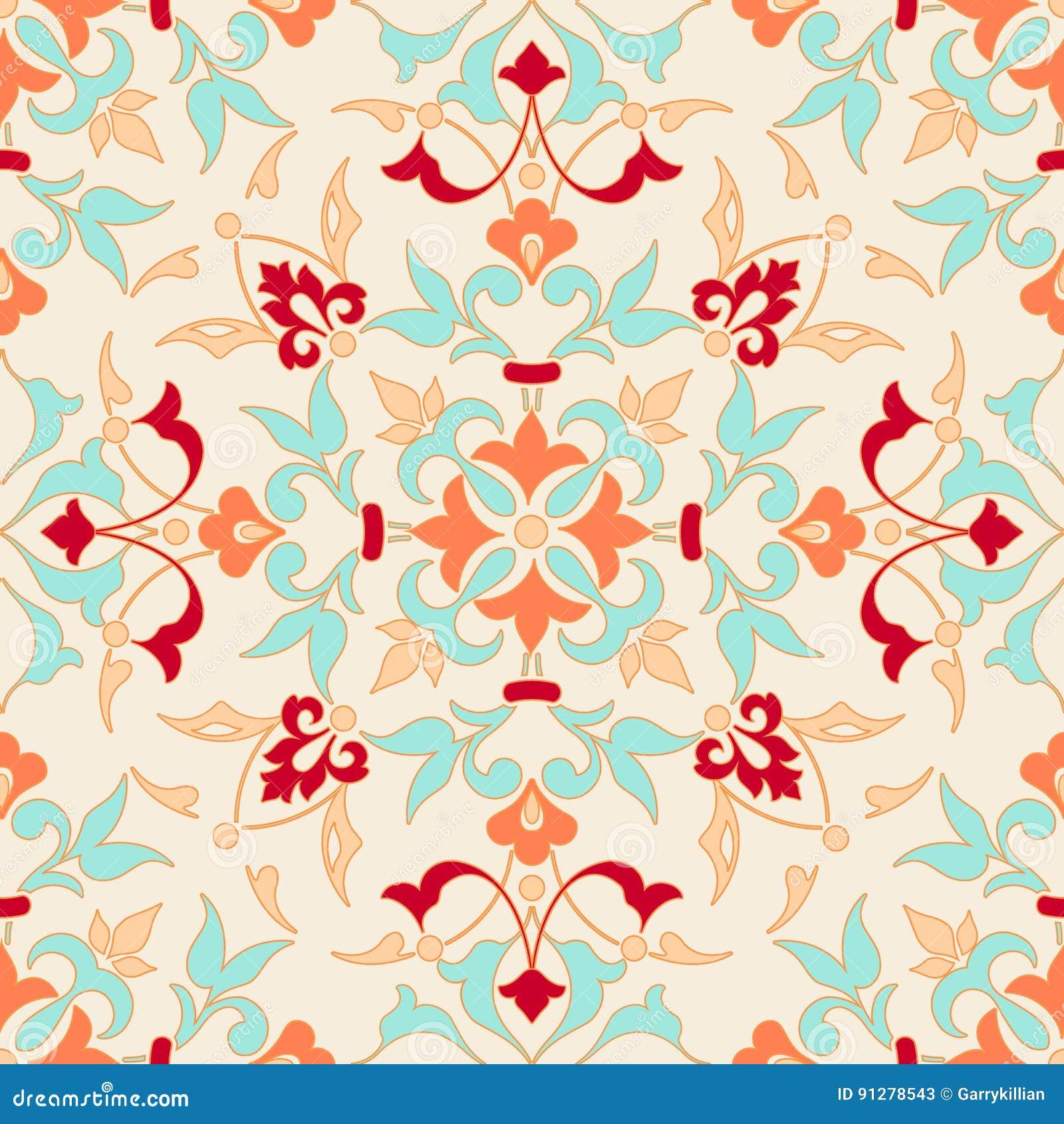 Zentangle utformade den geometriska prydnadmodellbeståndsdelen Orient traditionell prydnad Boho utformade