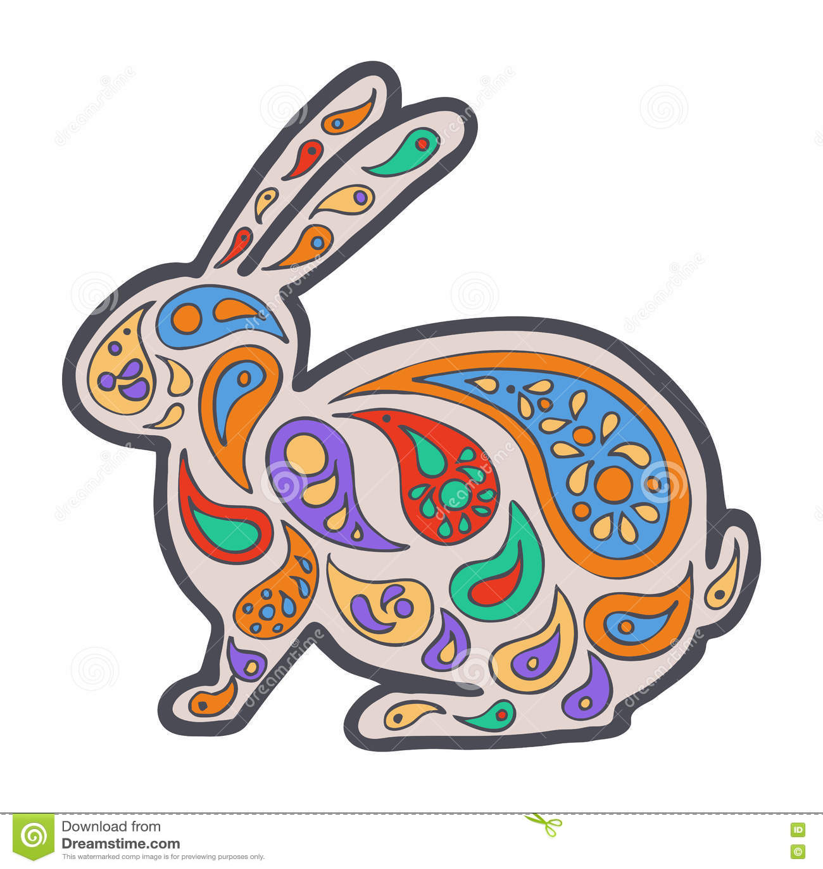 Download Zentangle And Zendoodle Hare Zen Tangle Doodle Animal Coloring Book Wildlife