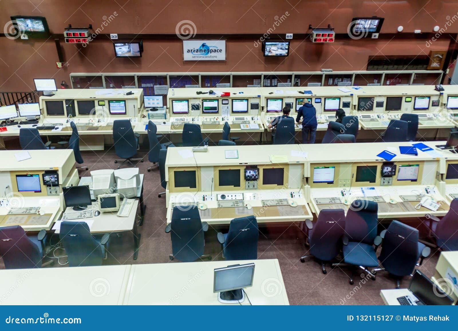 Zentrale in der Guayana-Raum-Mitte