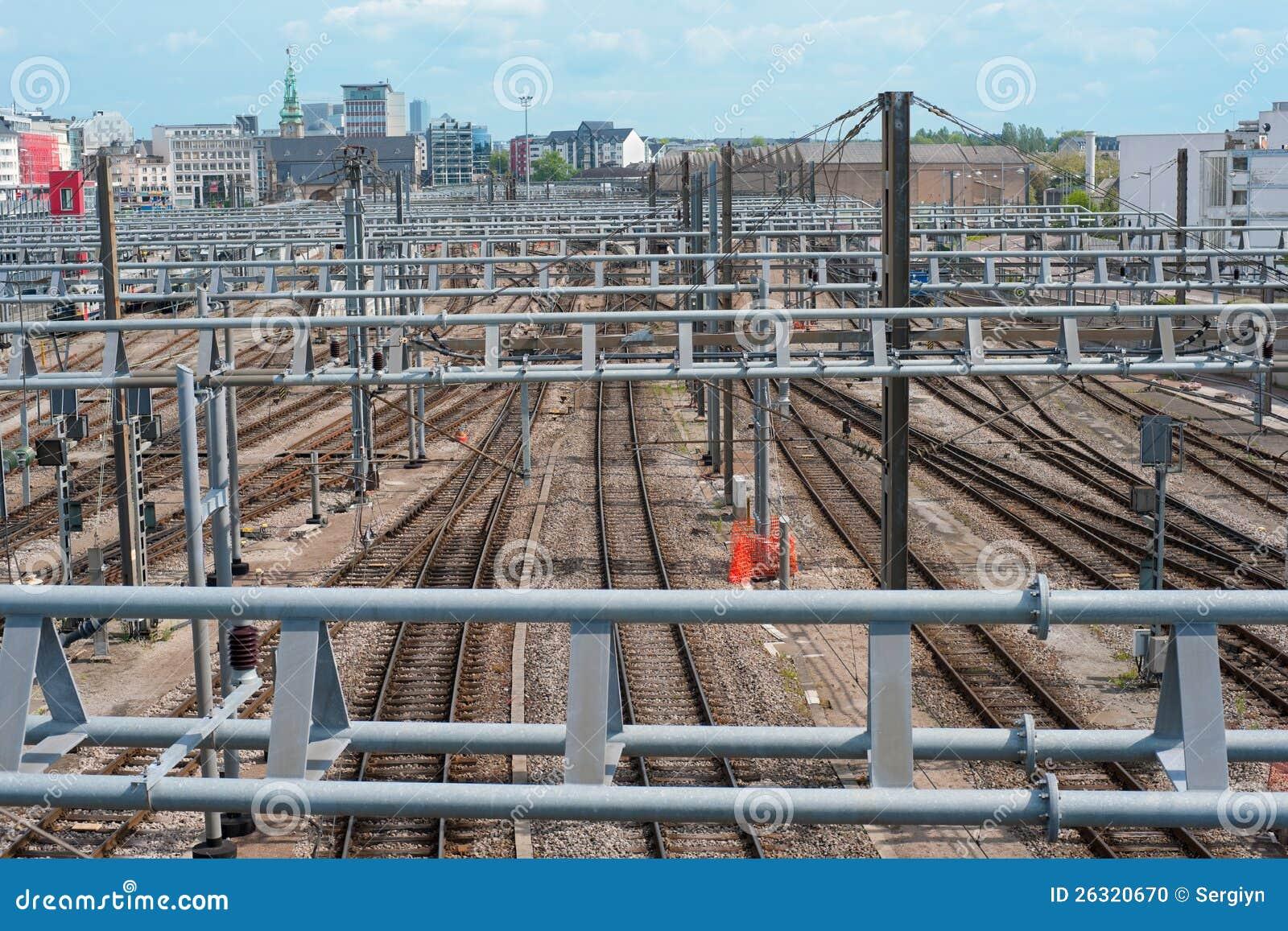 Zentraler Bahnhof in Luxemburg