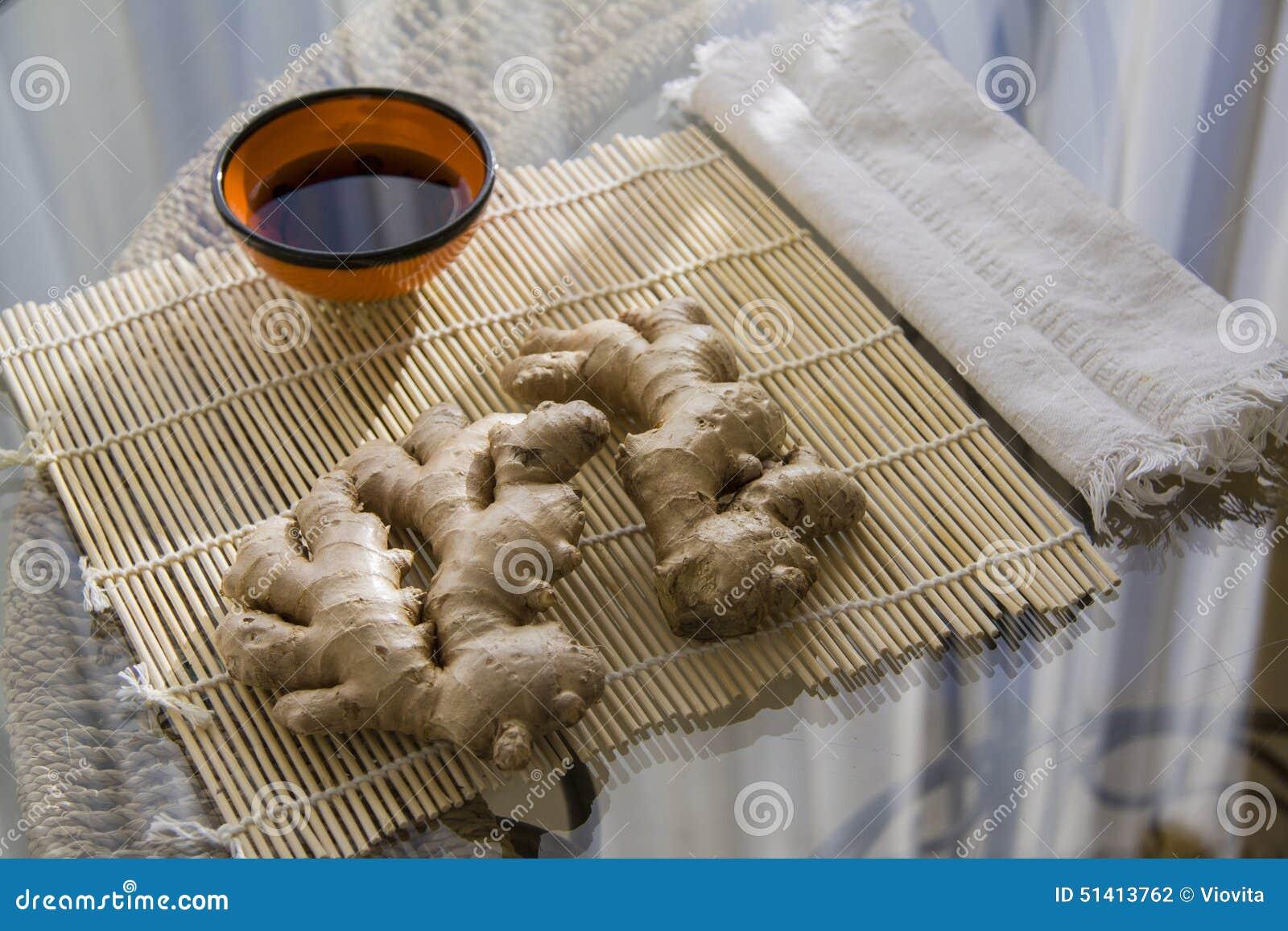 Zenzero per cucinare fotografia stock immagine di for Cucinare zenzero