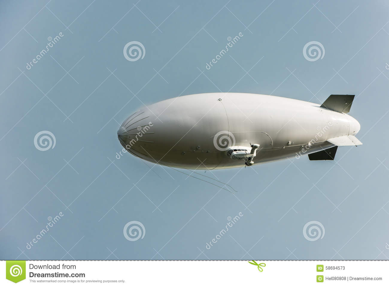 Zeppelin stock image  Image of tail, antenna, cabin, nose - 58694573