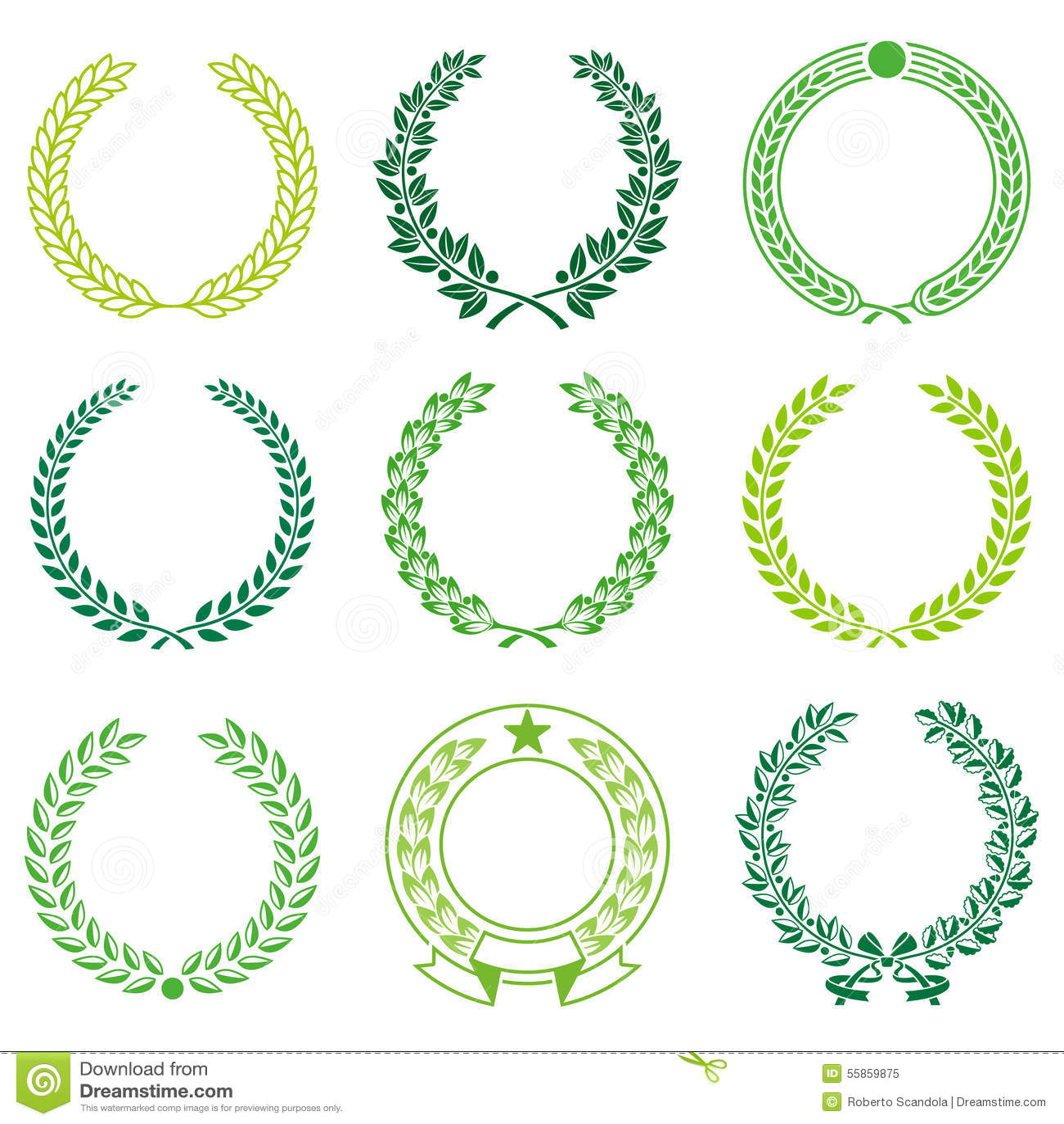 Zeremonielle Kranz-Rahmen vektor abbildung. Illustration von ...