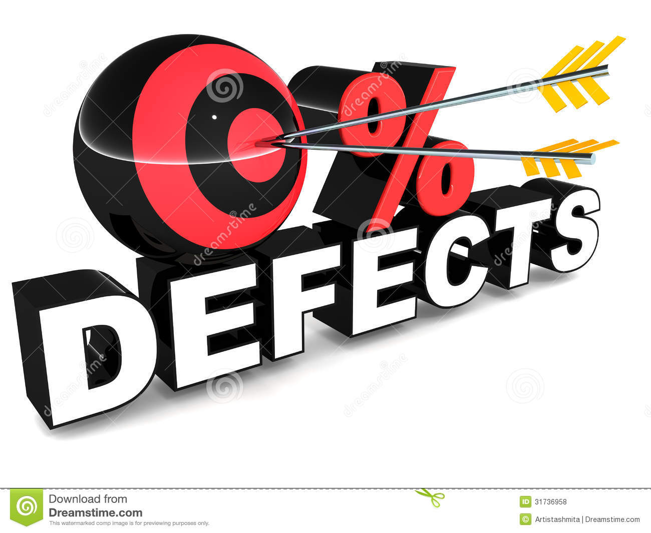 Zero Defect Royalty Free Stock Photos