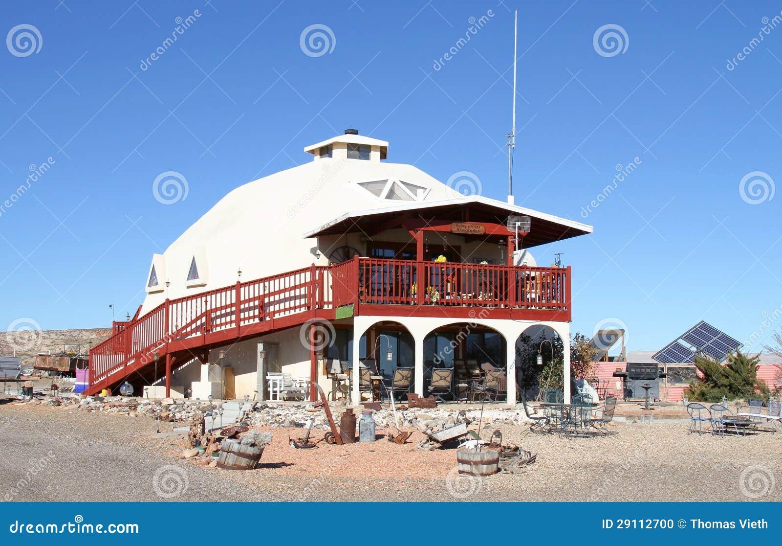USA, Utah: Zero-energy House