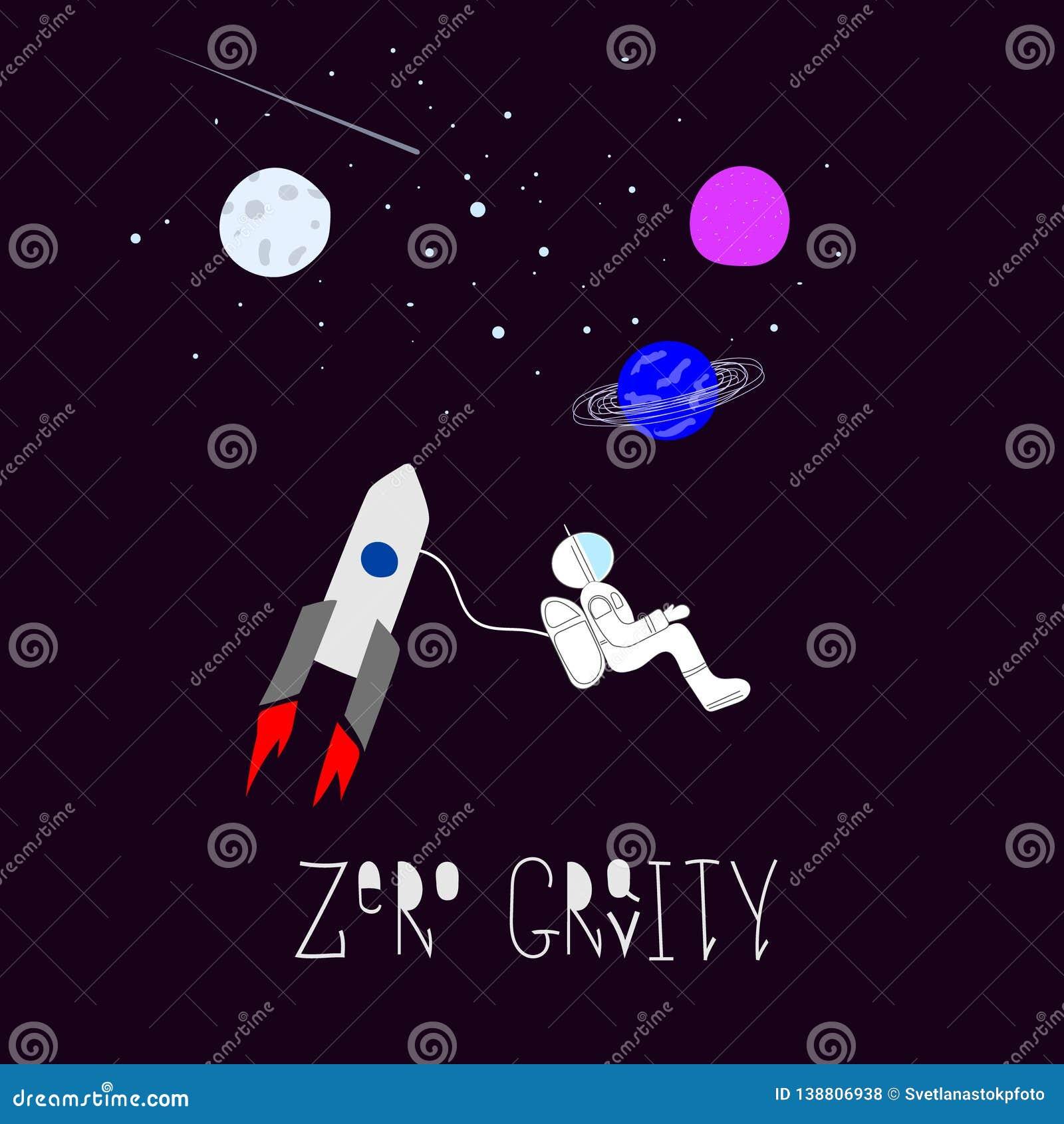 Zero Gravity Universe Space Astronaut Nature Star Cutout Scircle