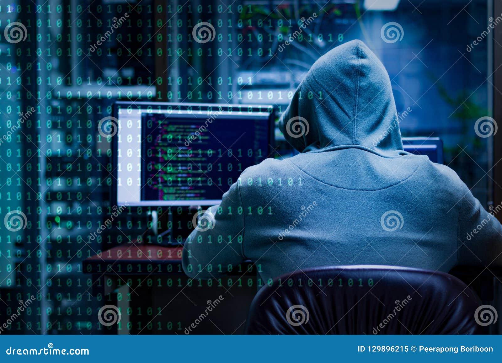 Zero one hacker coding