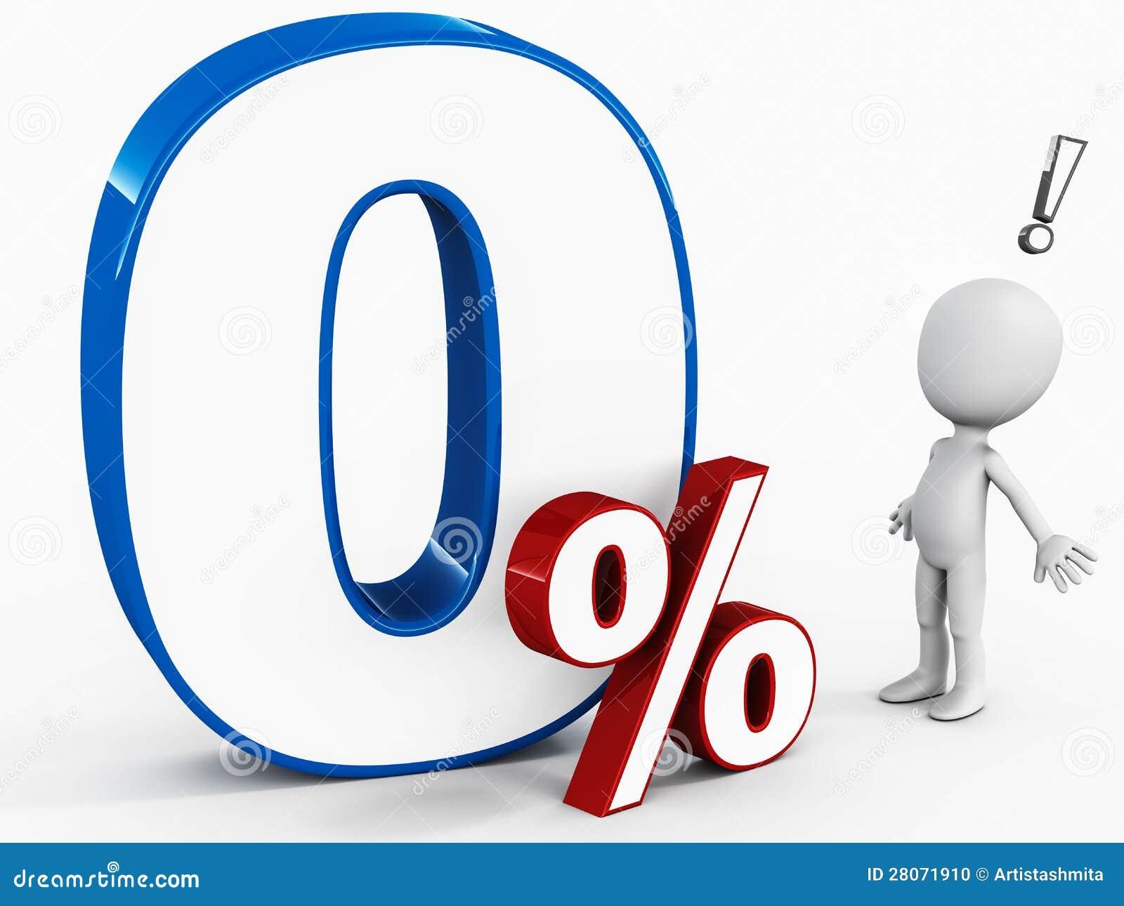 zero percent apr stock photo image 28071910. Black Bedroom Furniture Sets. Home Design Ideas