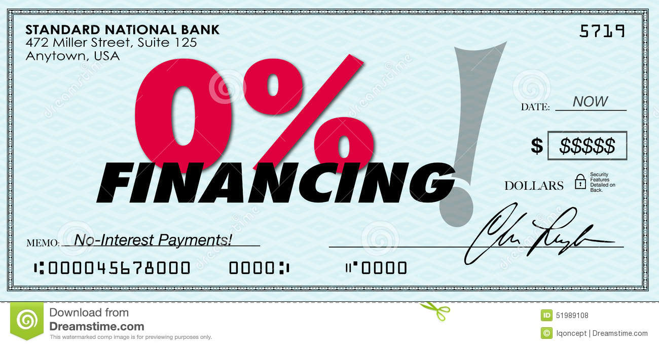 0 zero percent financing low no interest loan payment for Furniture 0 interest financing