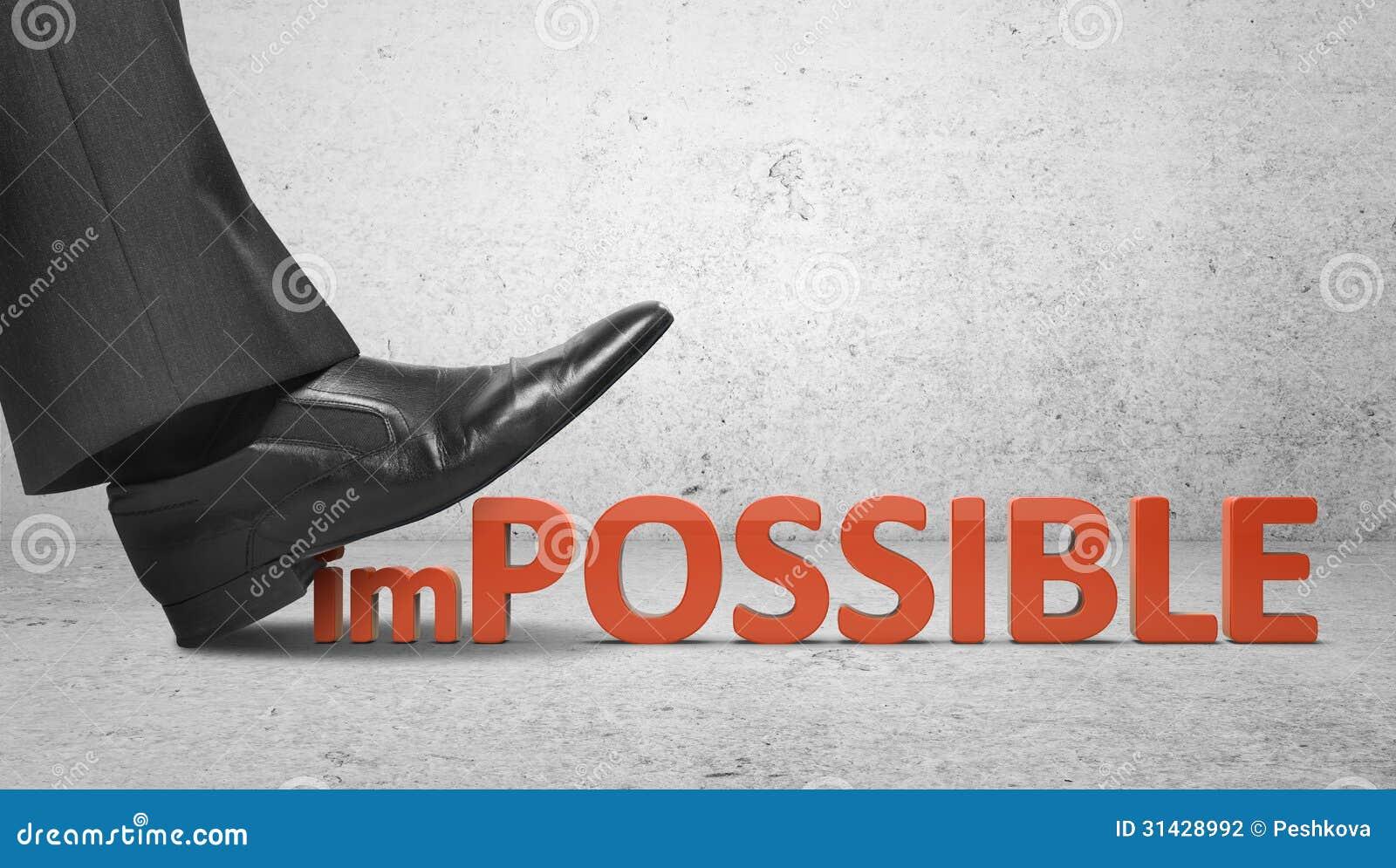 Zerquetscht unmöglichen Text