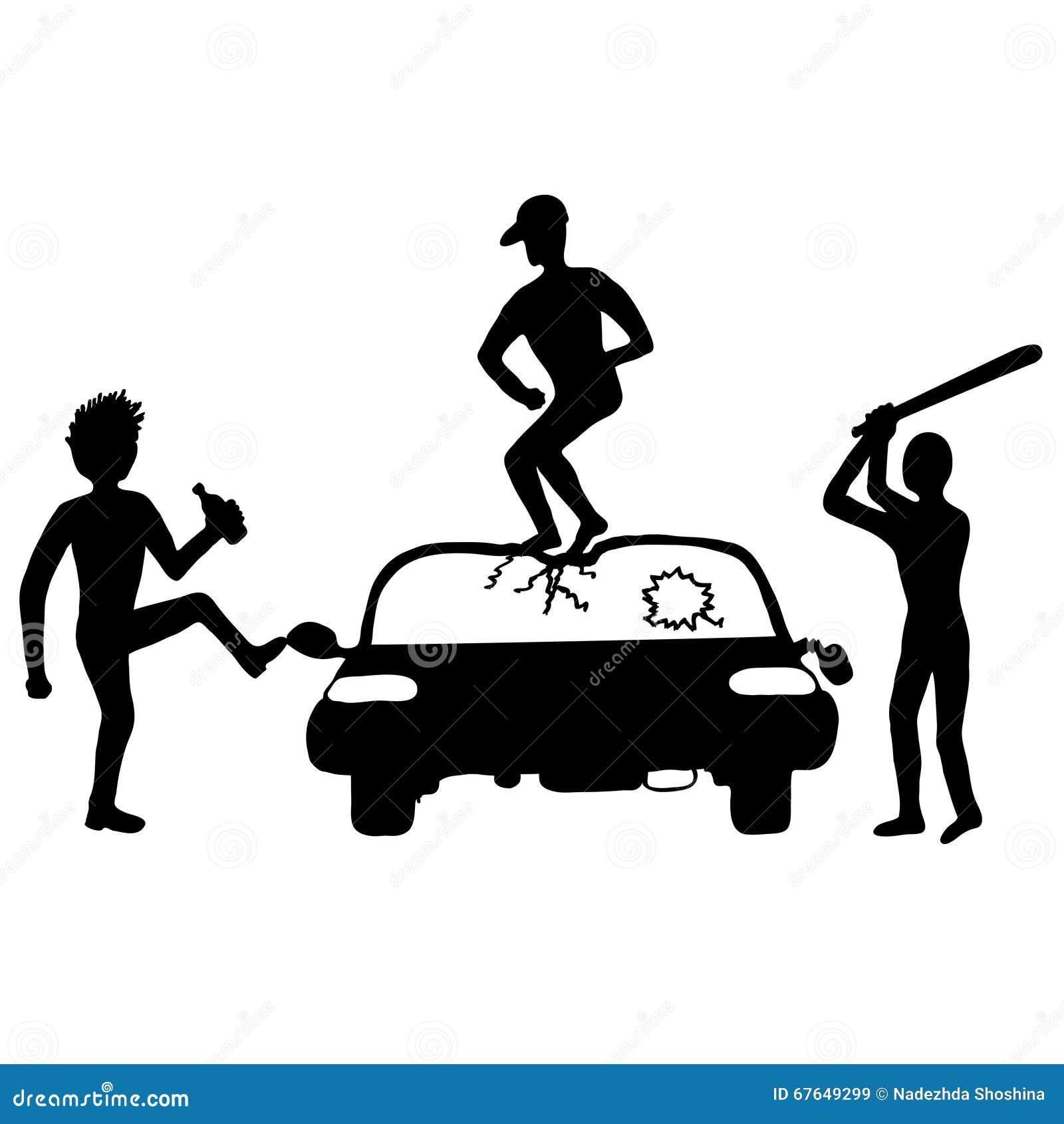 Zerstören Sie vom Auto