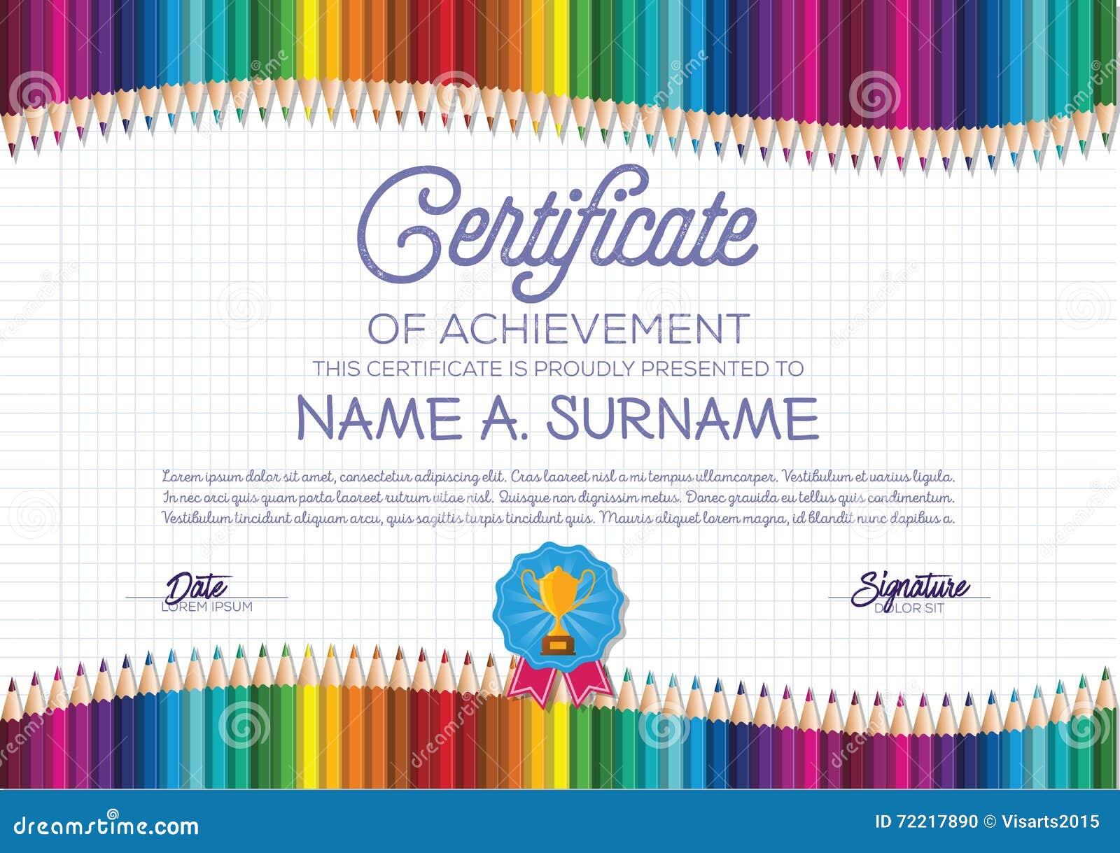 Wunderbar Kinder Zertifikat Vorlagen Bilder - Entry Level Resume ...