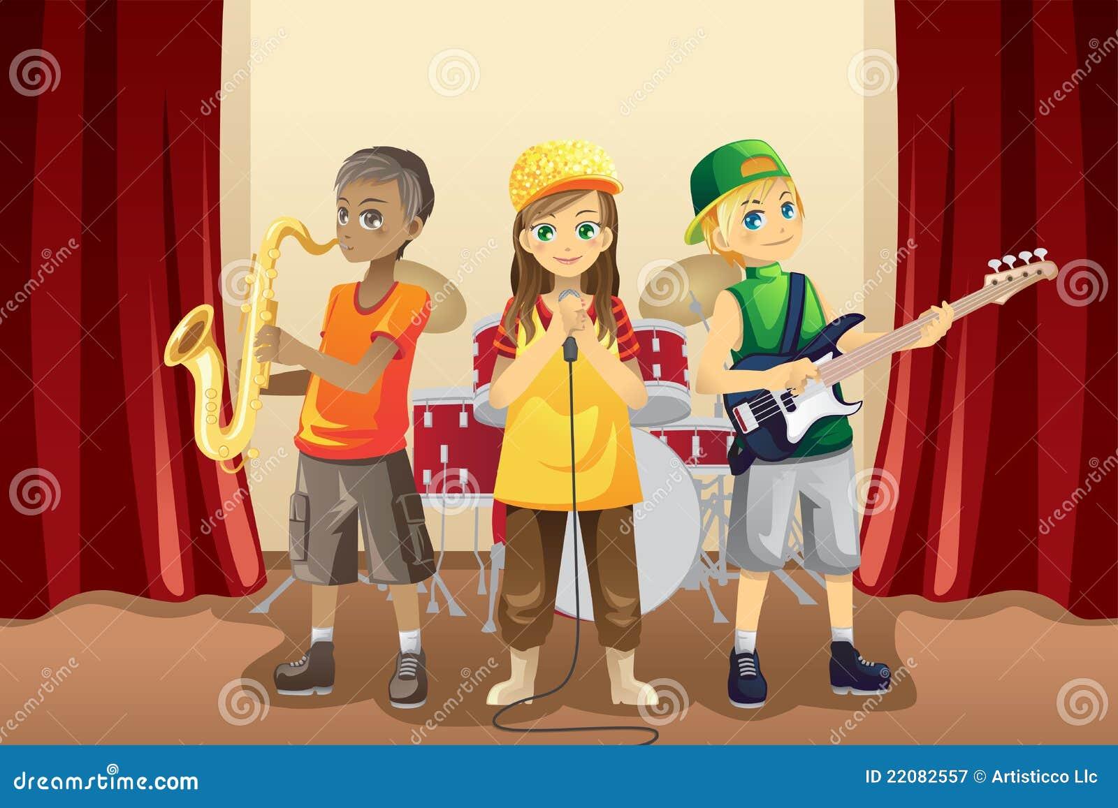 Zespół żartuje małą muzykę
