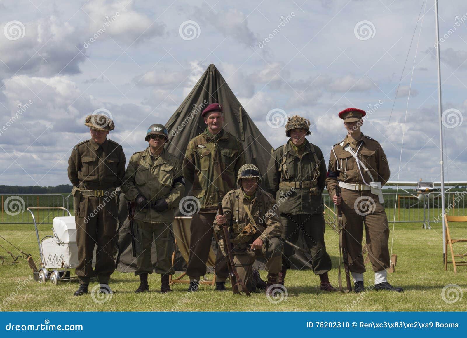 Zespół bracia w ręk drugi wojnie światowa