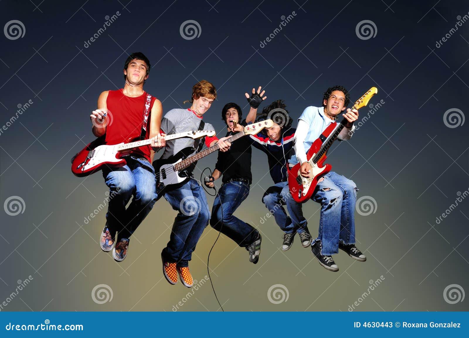 Zespół doskakiwania rock