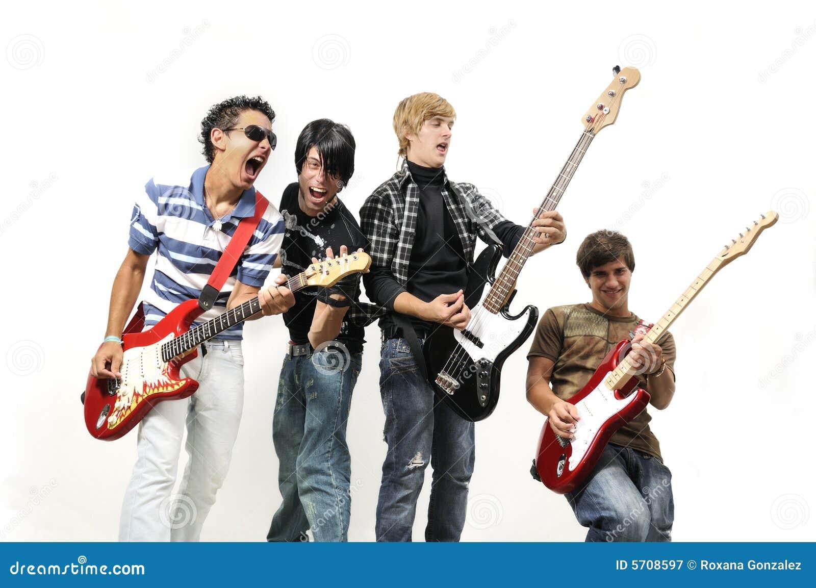 Zespół rockowy nastolatków.
