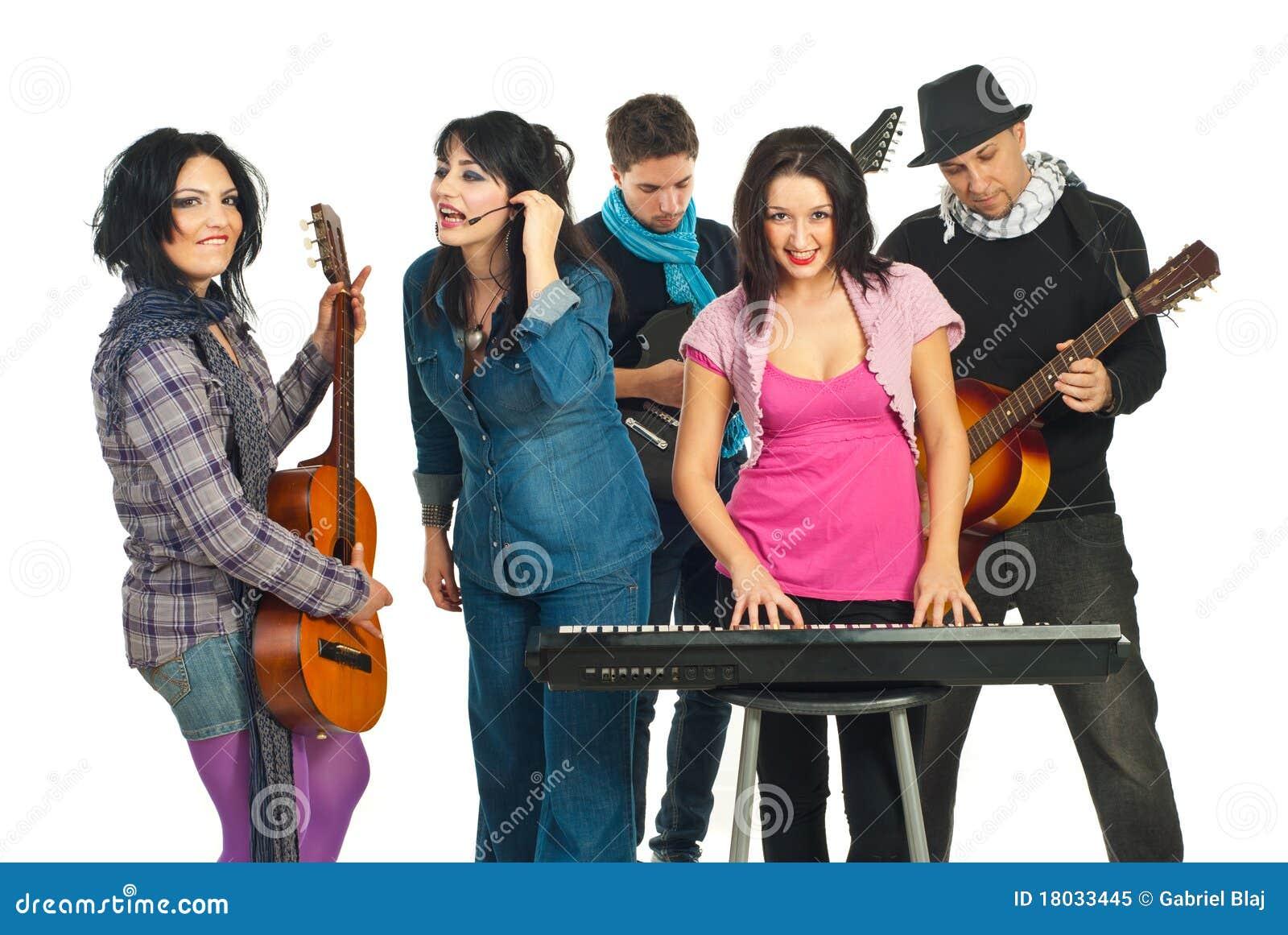 Zespołów muzycy