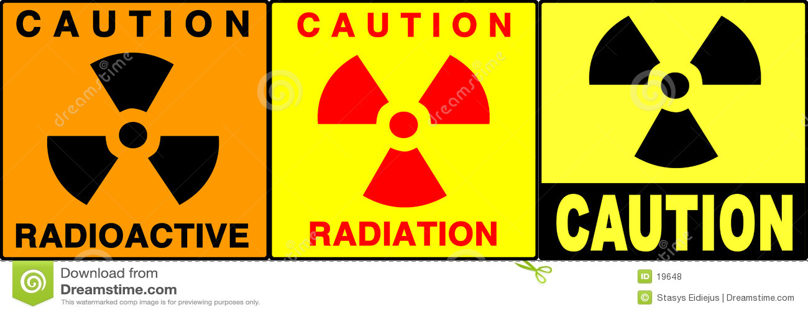 Zestaw ostrożność podpisany ostrzeżenie