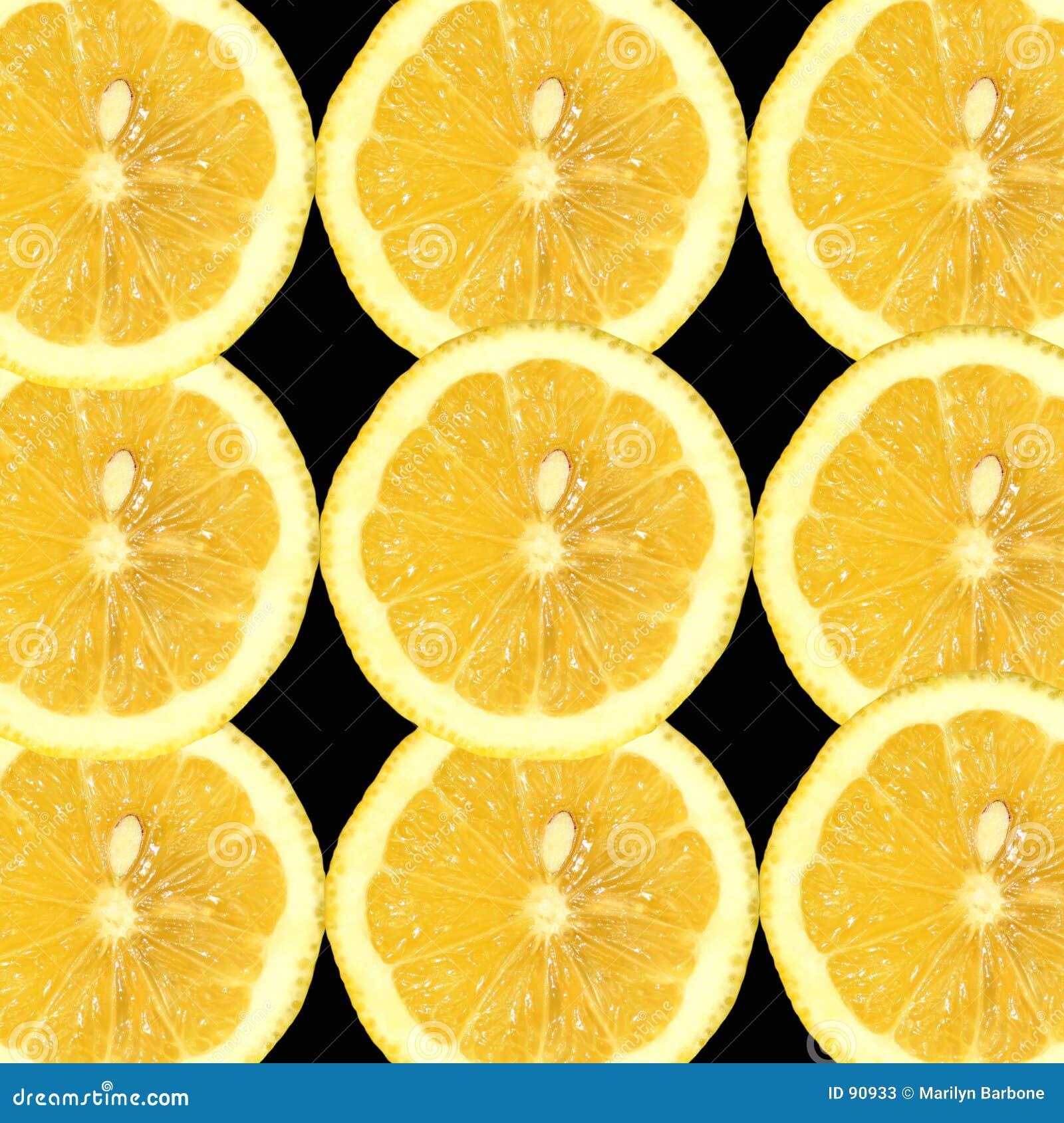 Zesty lemon pokroić