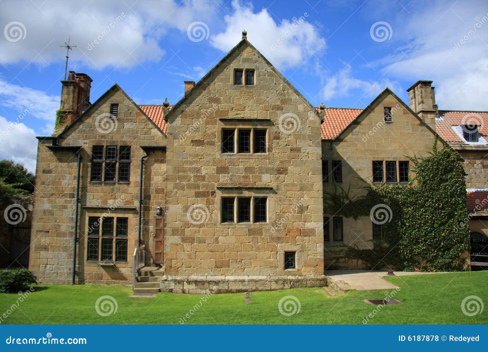 Zet de Manor van de Priorij van de Gunst op