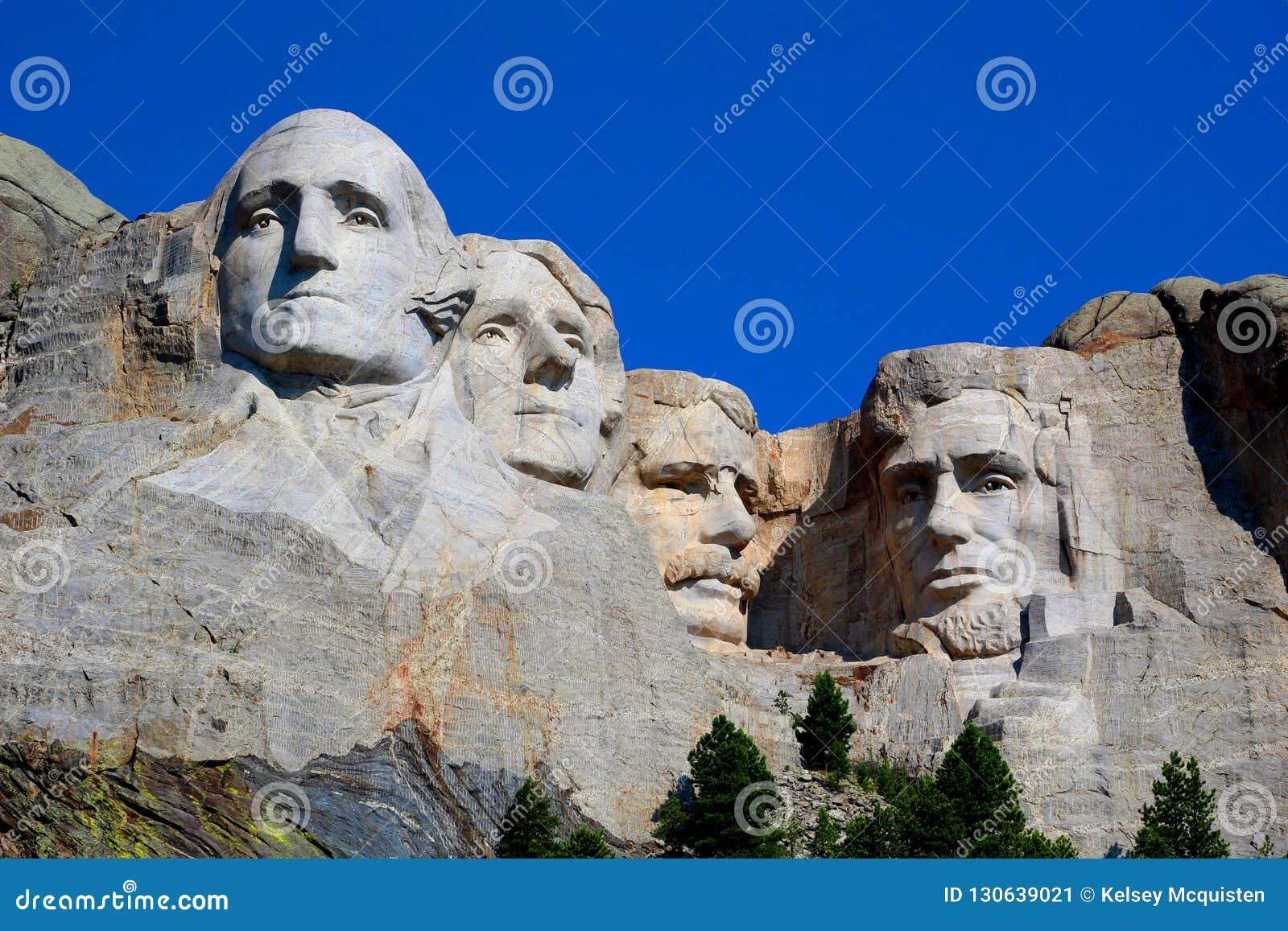 Zet de Nationale Herdenkingsrushmore Grote mening van Rushmore op