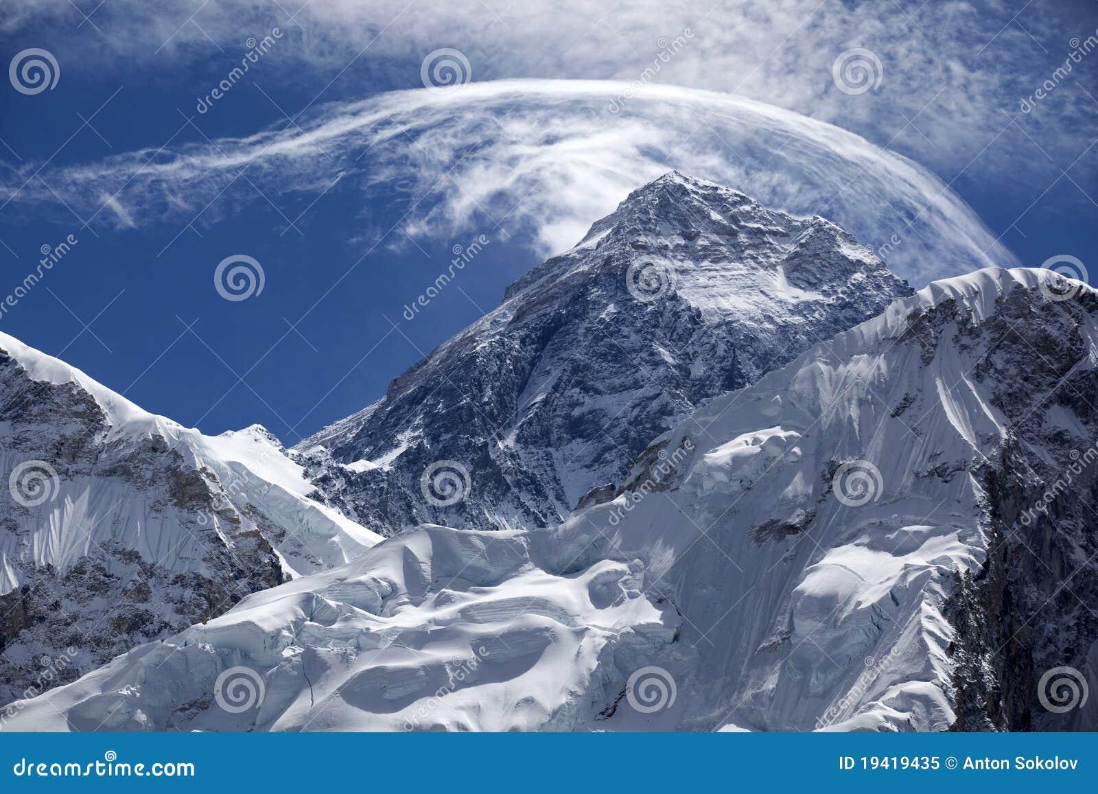 Zet Everest op.