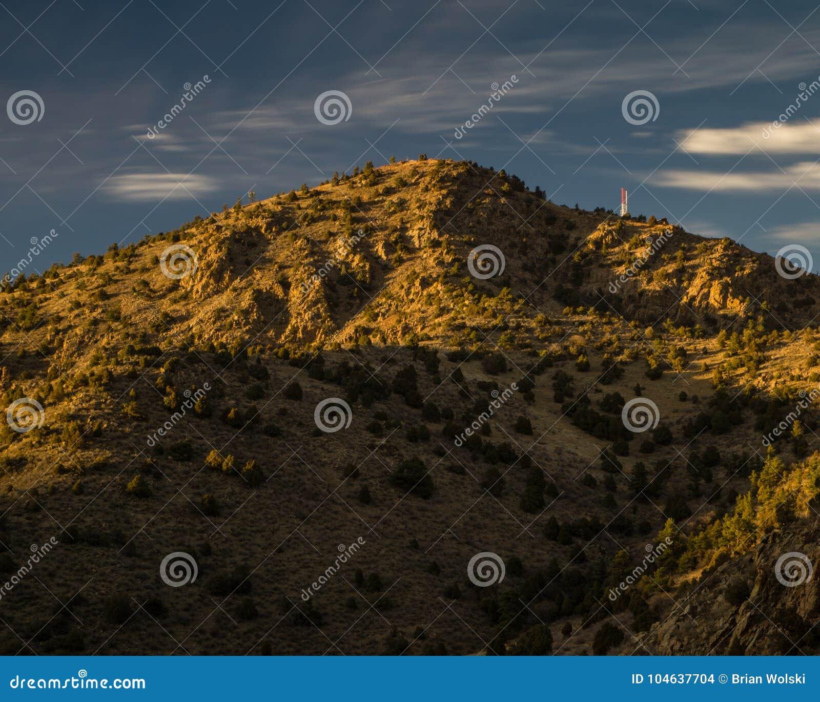 Download Zet Morrison - Colorado op stock foto. Afbeelding bestaande uit schaduw - 104637704