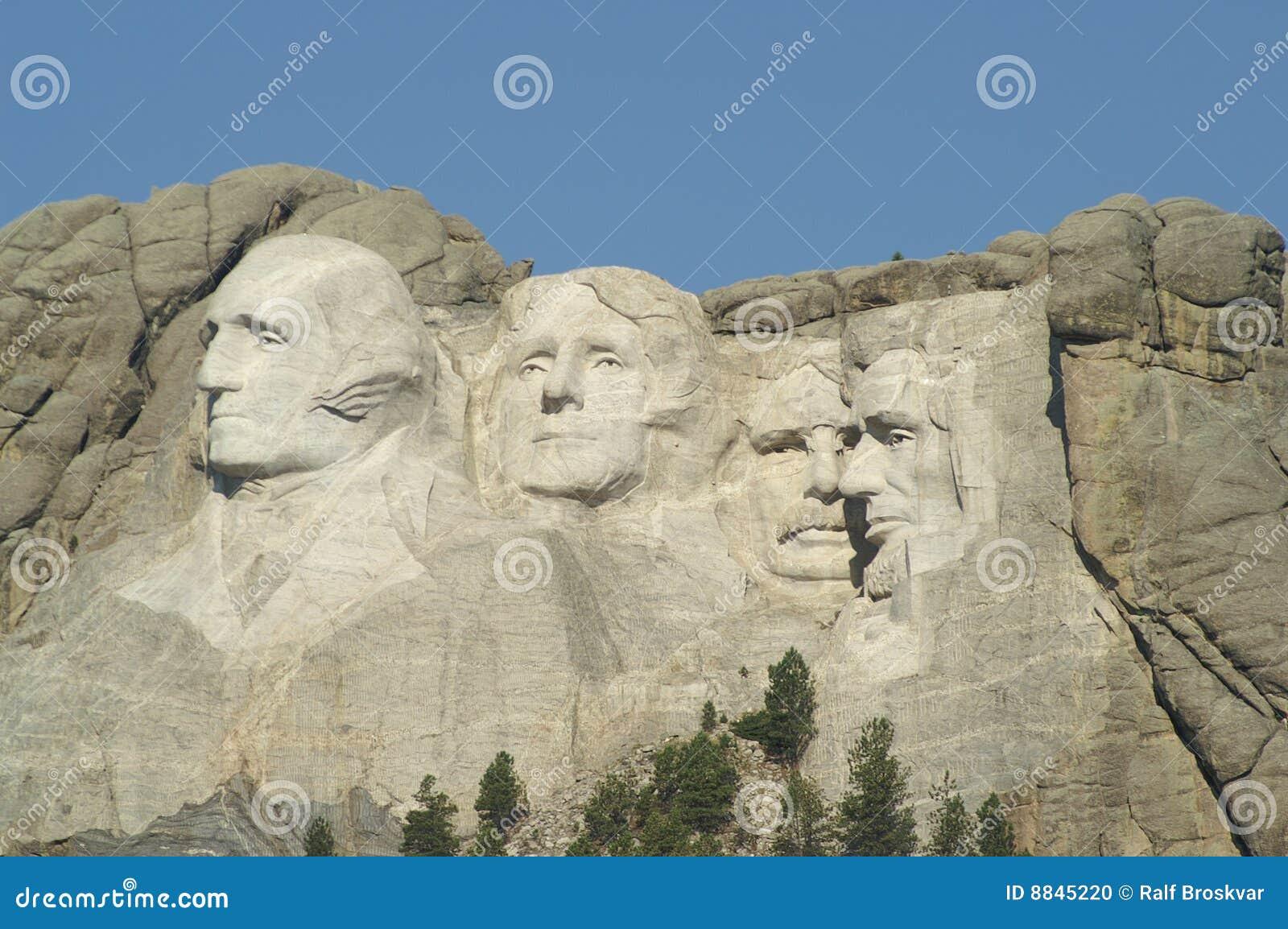 Zet Nationaal Gedenkteken Rushmore op