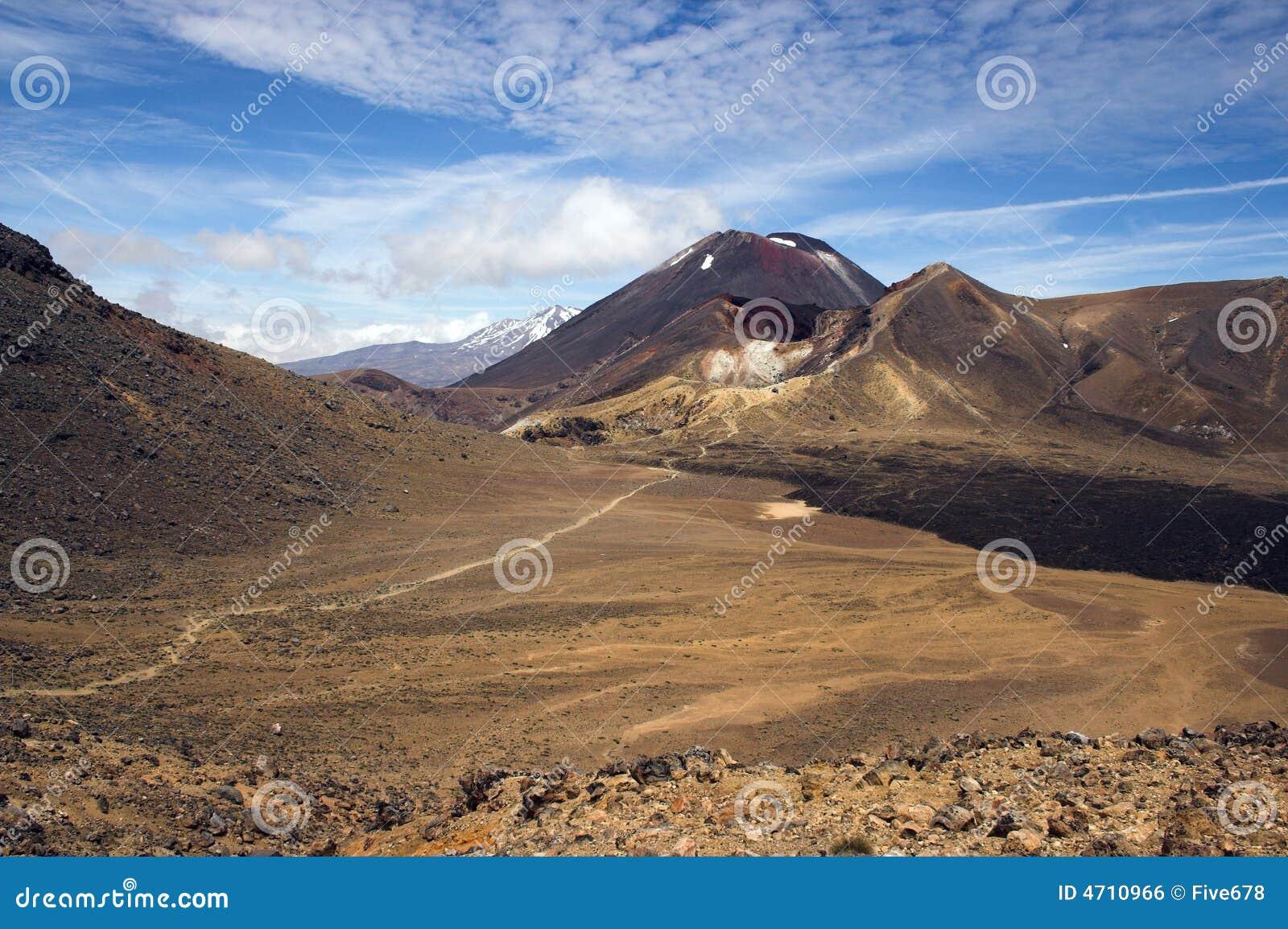 Zet Ngauruhoe (Noodlot) op, Kruising Tongariro