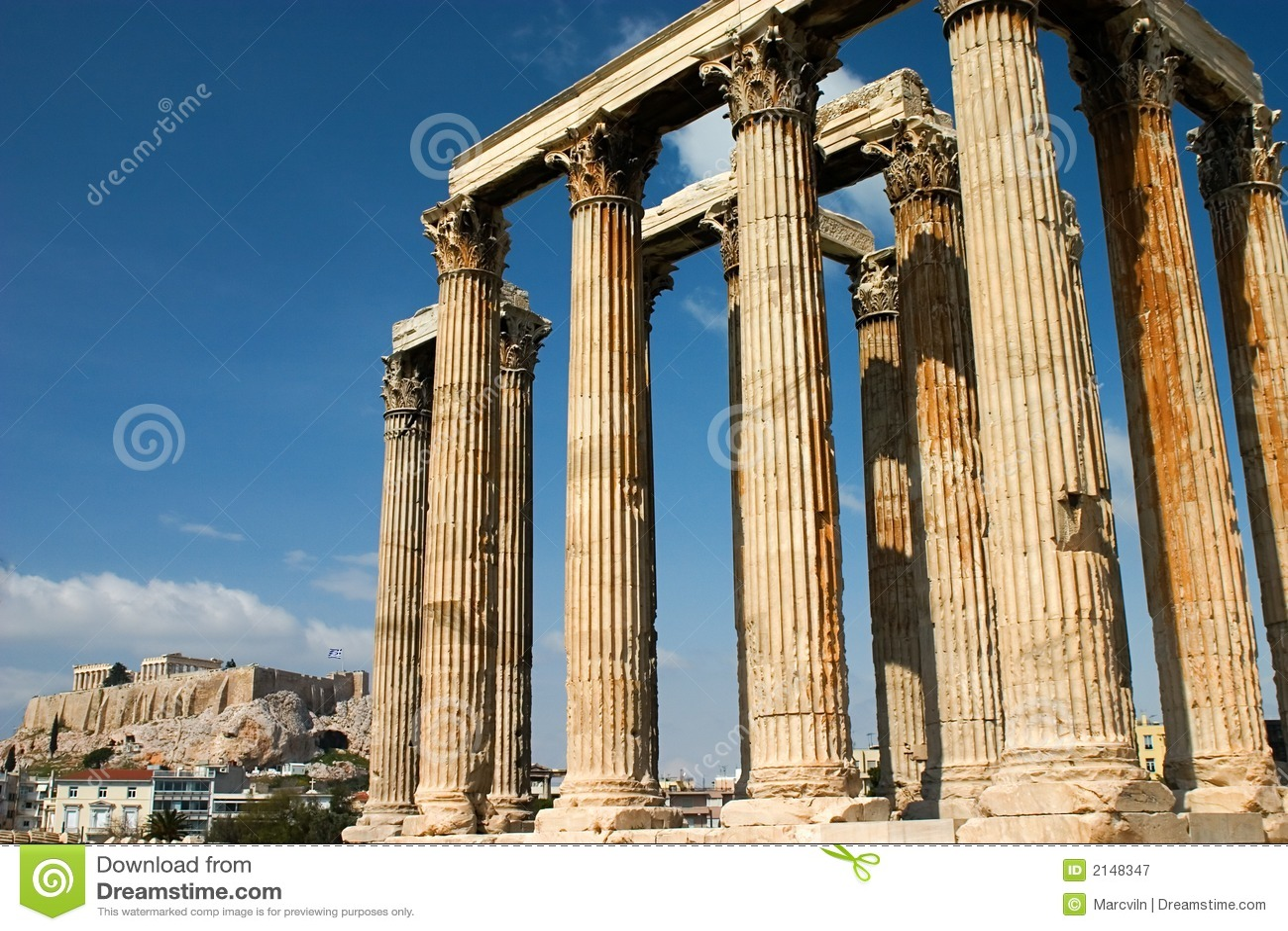 Zeus świątyni athens
