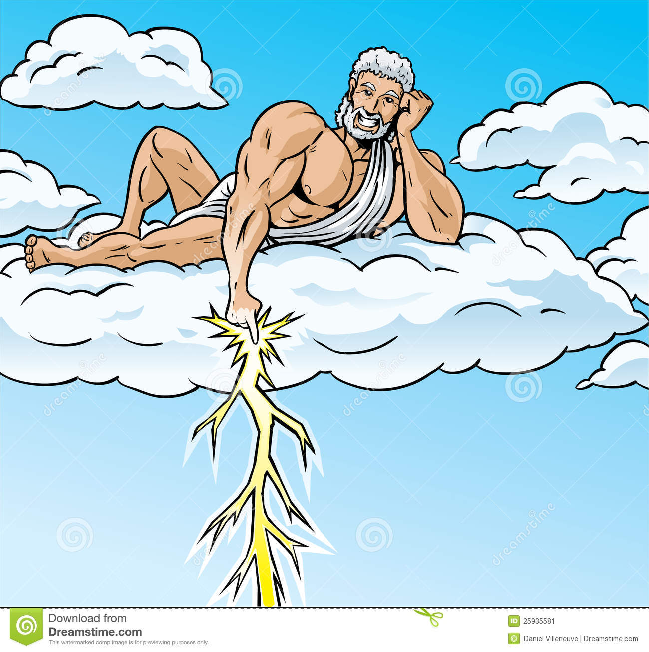 Zeus Stock Illustrations – 351 Zeus Stock Illustrations, Vectors ...