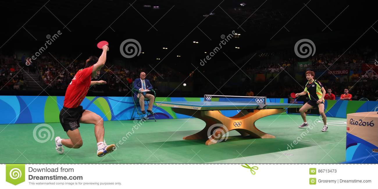 Tischtennis Rio