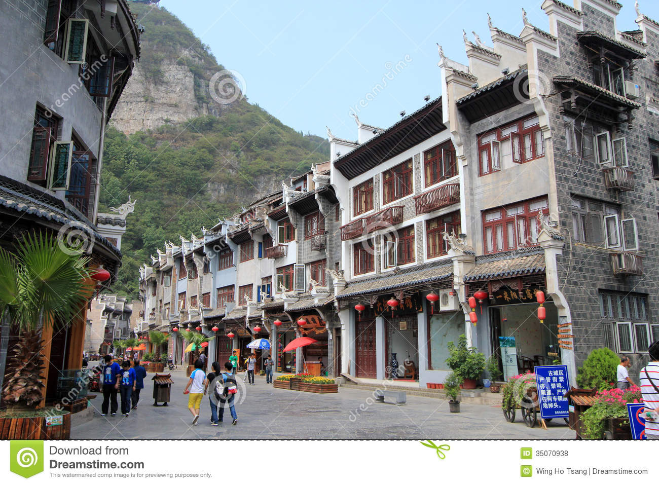 Zhenyuan (Guizhou) China  city photo : Zhenyuan Ancient Town In Guizhou China Editorial Stock Photo Image ...