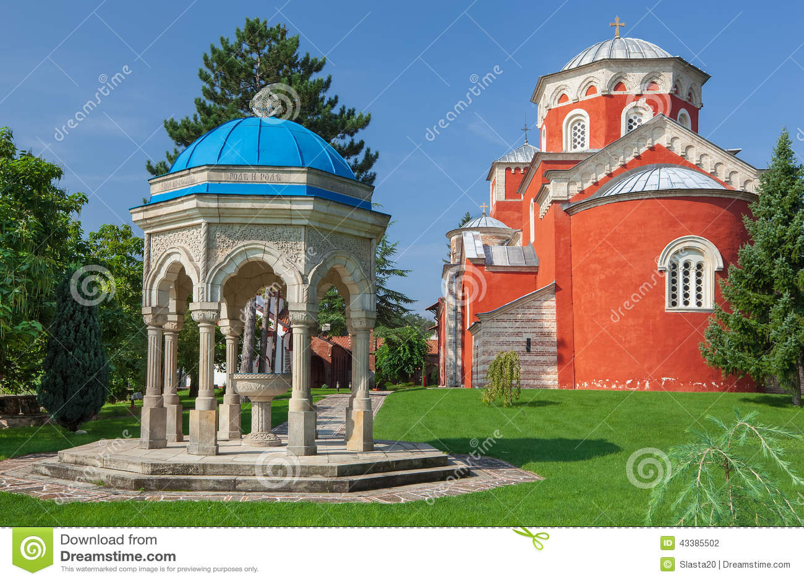 Zica monastery complex
