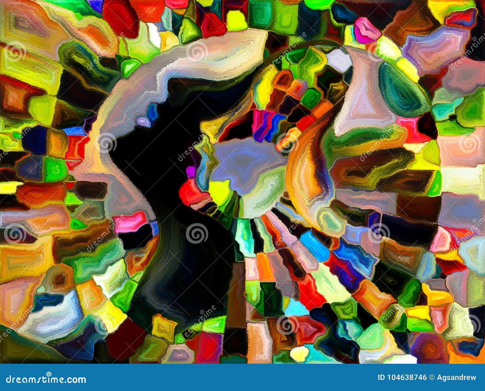 Download Zie Wat ik zie stock illustratie. Illustratie bestaande uit veelkleurig - 104638746