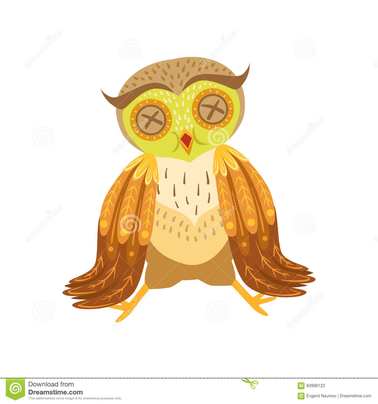 Image of: Vector Ziek Owl Cute Cartoon Character Emoji Met Forest Bird Showing Human Emotions En Gedrag Dreamstime Ziek Owl Cute Cartoon Character Emoji Met Forest Bird Showing Human