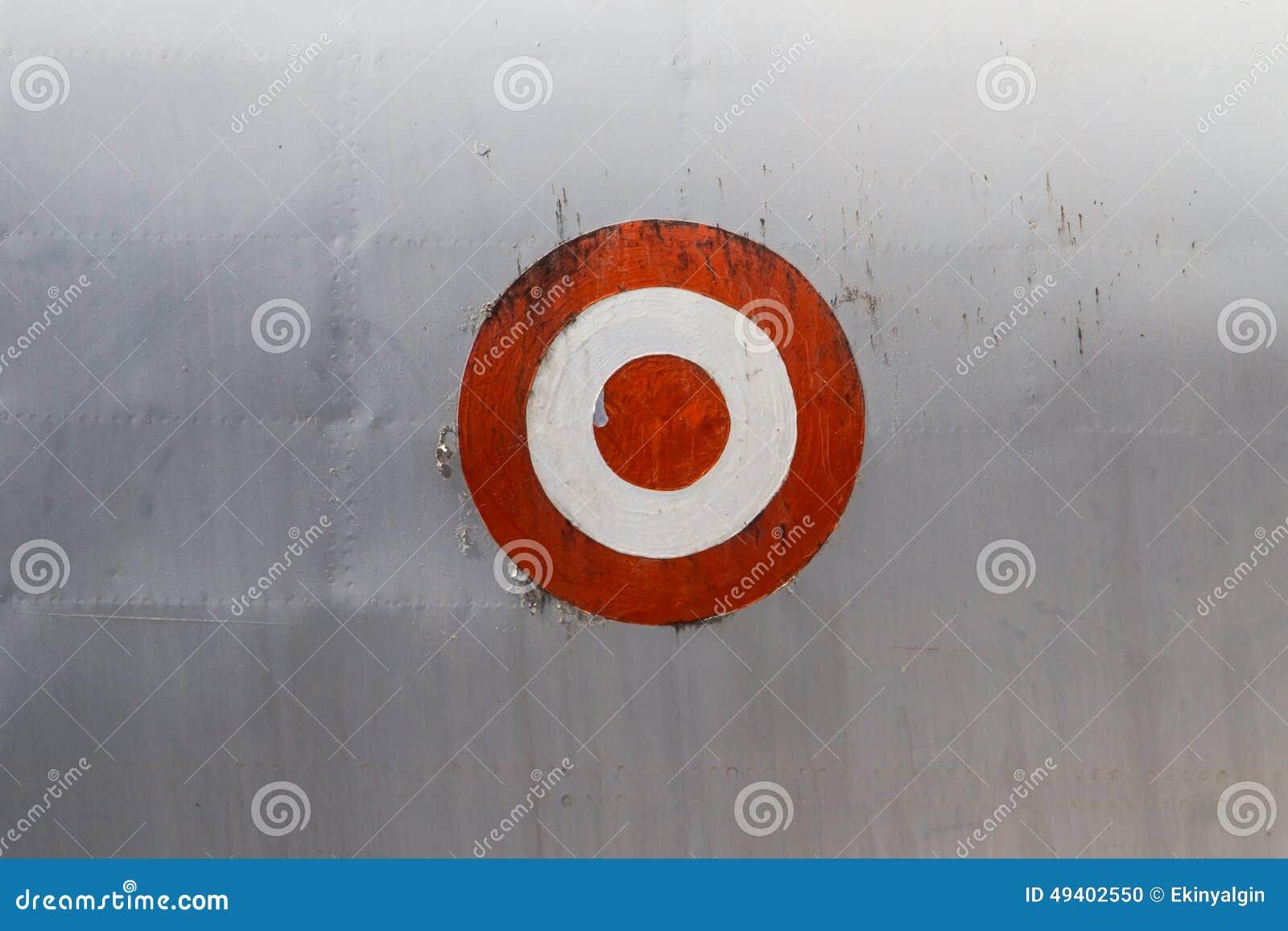 Download Ziel-Symbol auf Fläche stockfoto. Bild von sonderkommando - 49402550