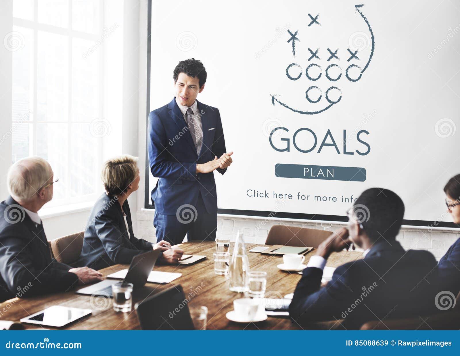Ziel-Ziel-Aspiration glauben Inspirations-Ziel-Konzept